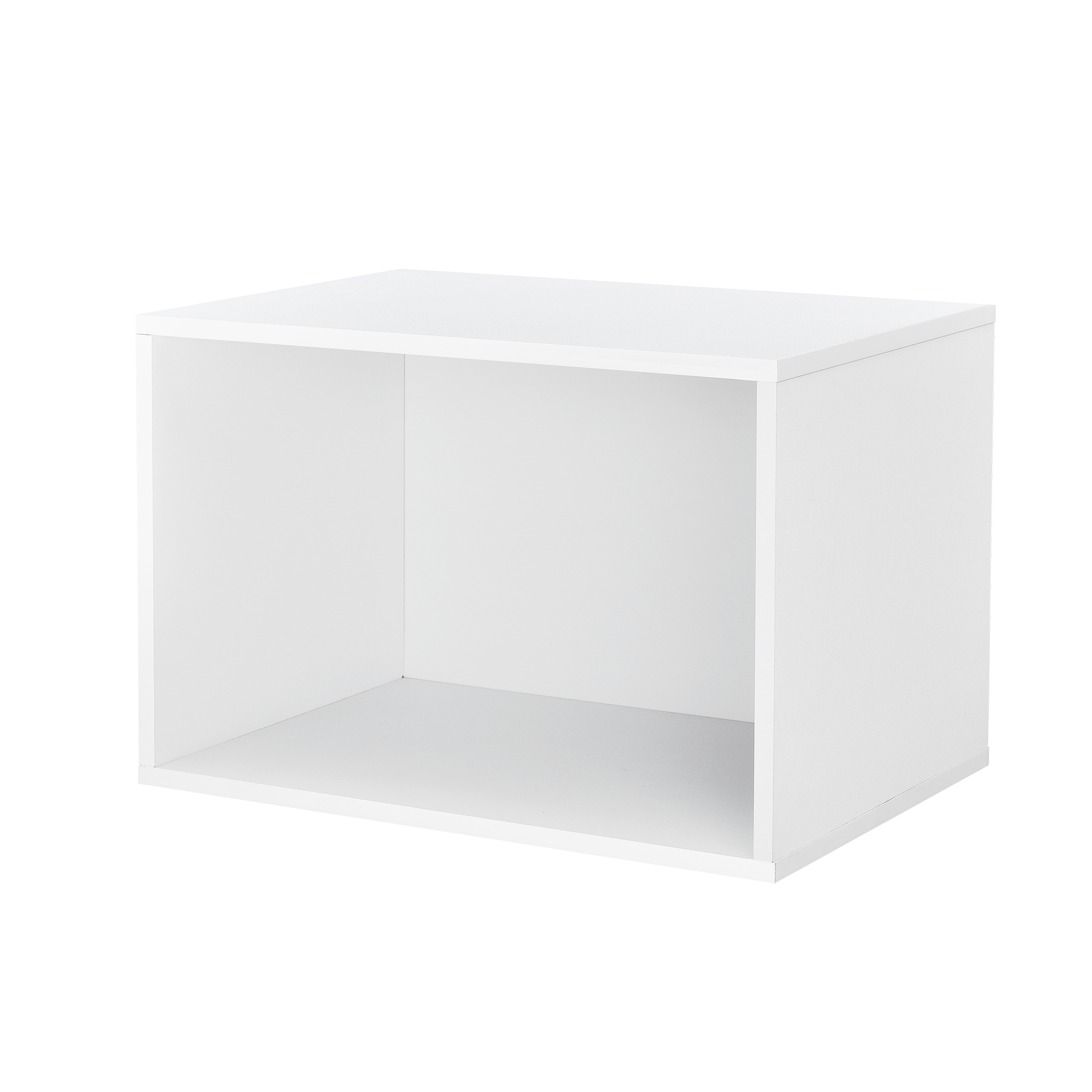regal 45x30x30cm wei wandregal h ngeregal b cherregal kombinierbar ebay. Black Bedroom Furniture Sets. Home Design Ideas