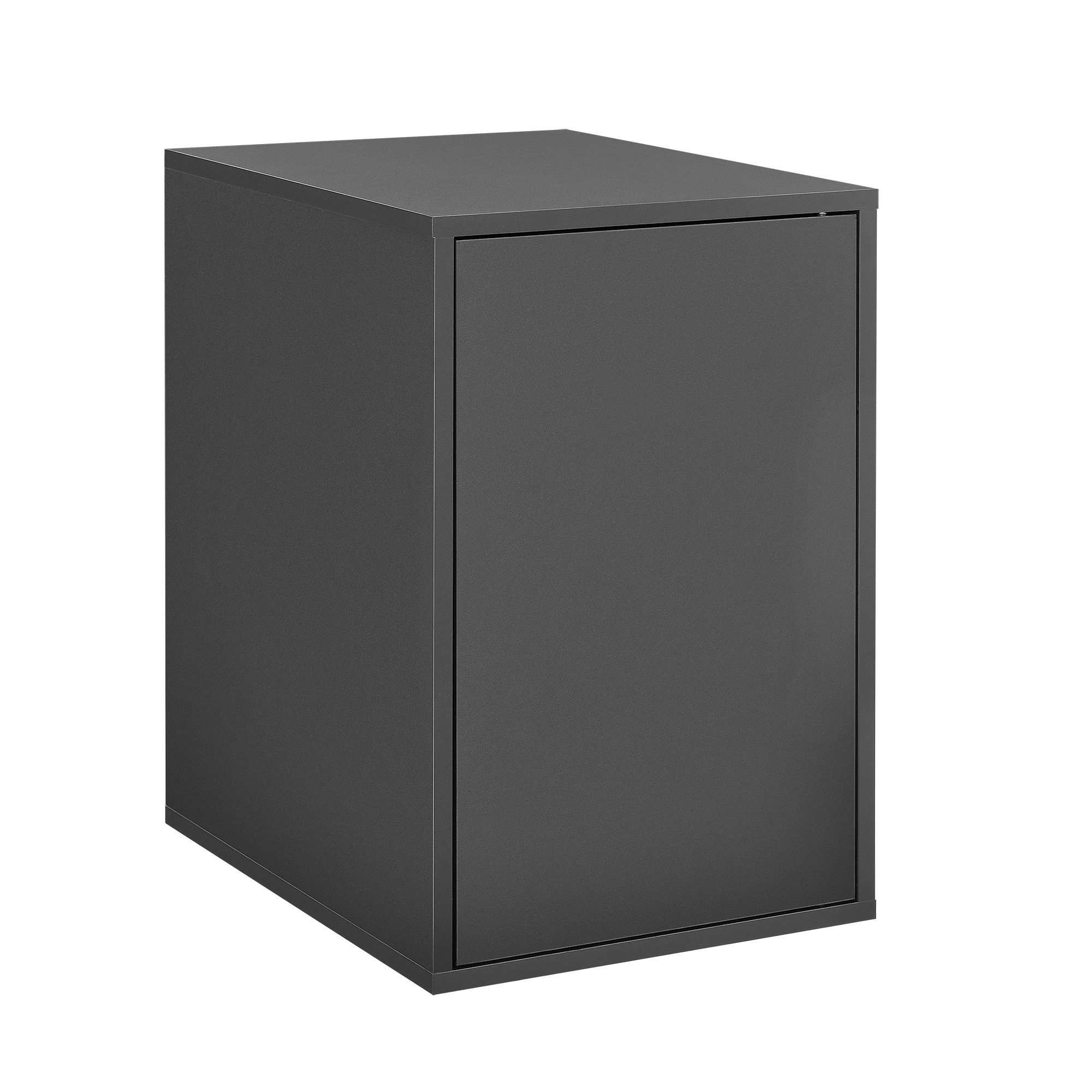 h ngeschrank 30x45x40cm grau wandschrank schrank wandregal regal ebay. Black Bedroom Furniture Sets. Home Design Ideas