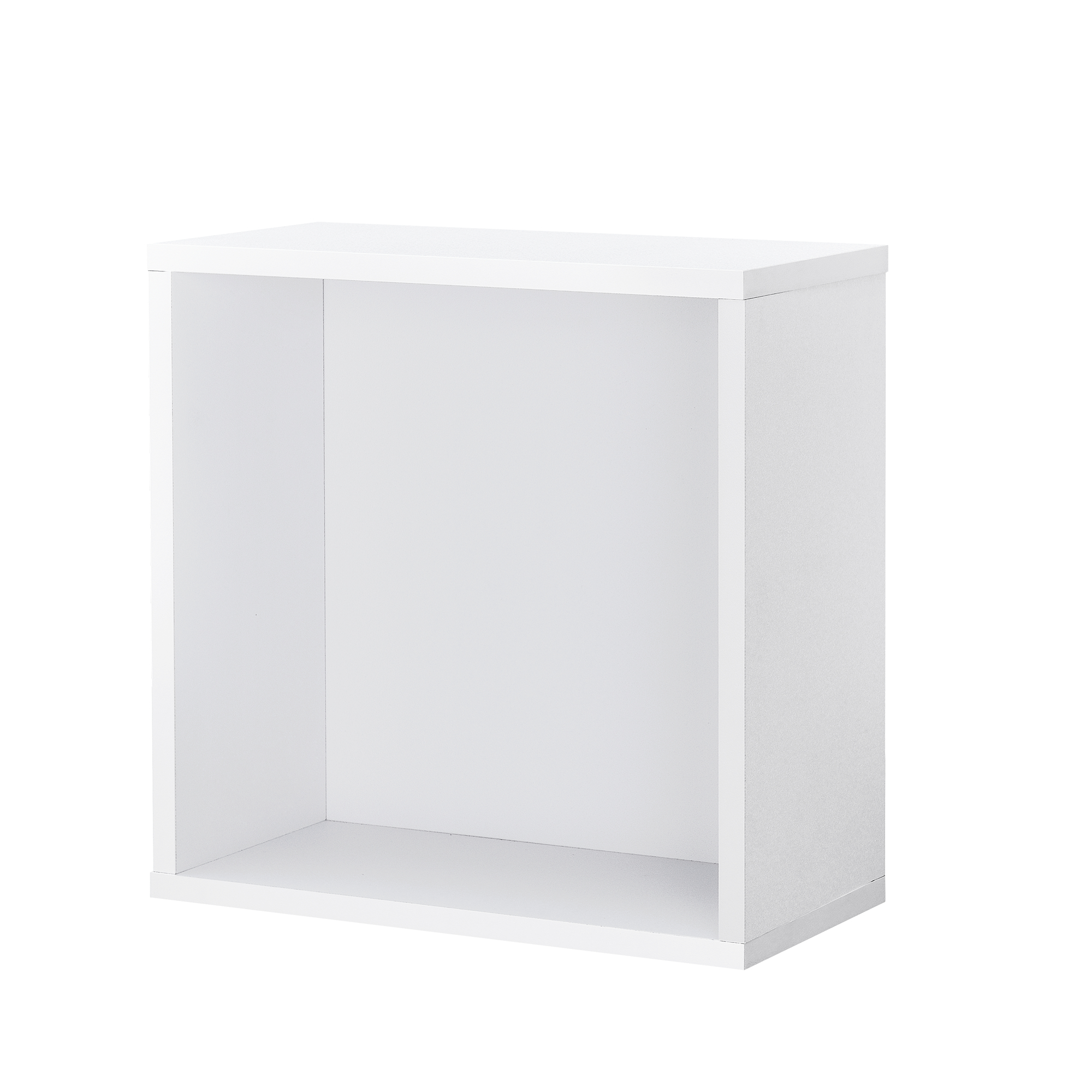 regal 30x30x15cm wei wandregal h ngeregal b cherregal kombinierbar ebay. Black Bedroom Furniture Sets. Home Design Ideas