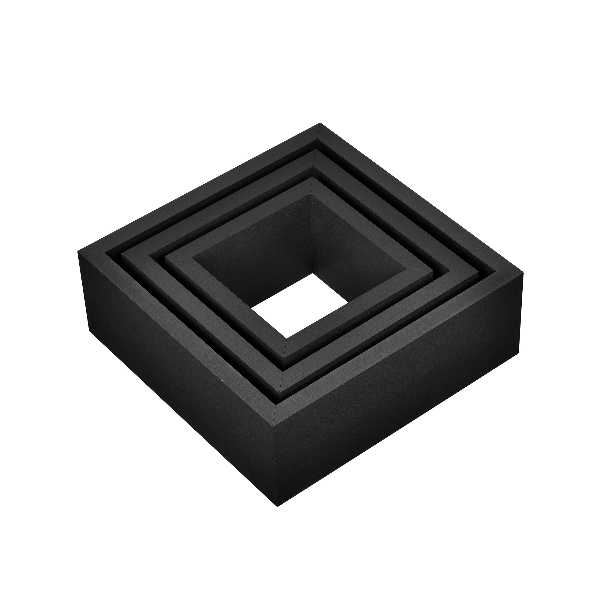 3er set tag re murale tag res suspendre - Etagere murale cube noir ...