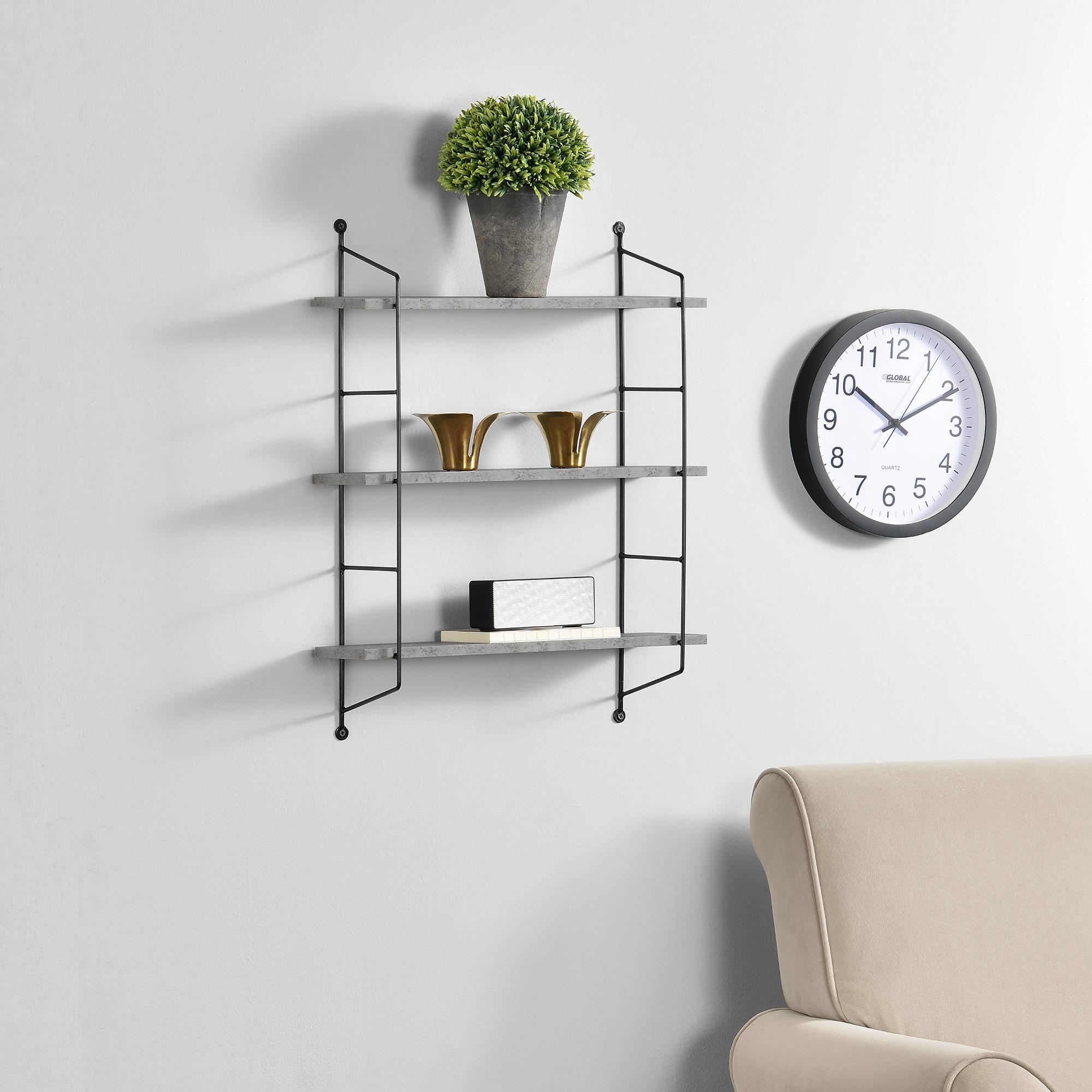 wandregal h ngeregal wandboard deko regal board. Black Bedroom Furniture Sets. Home Design Ideas