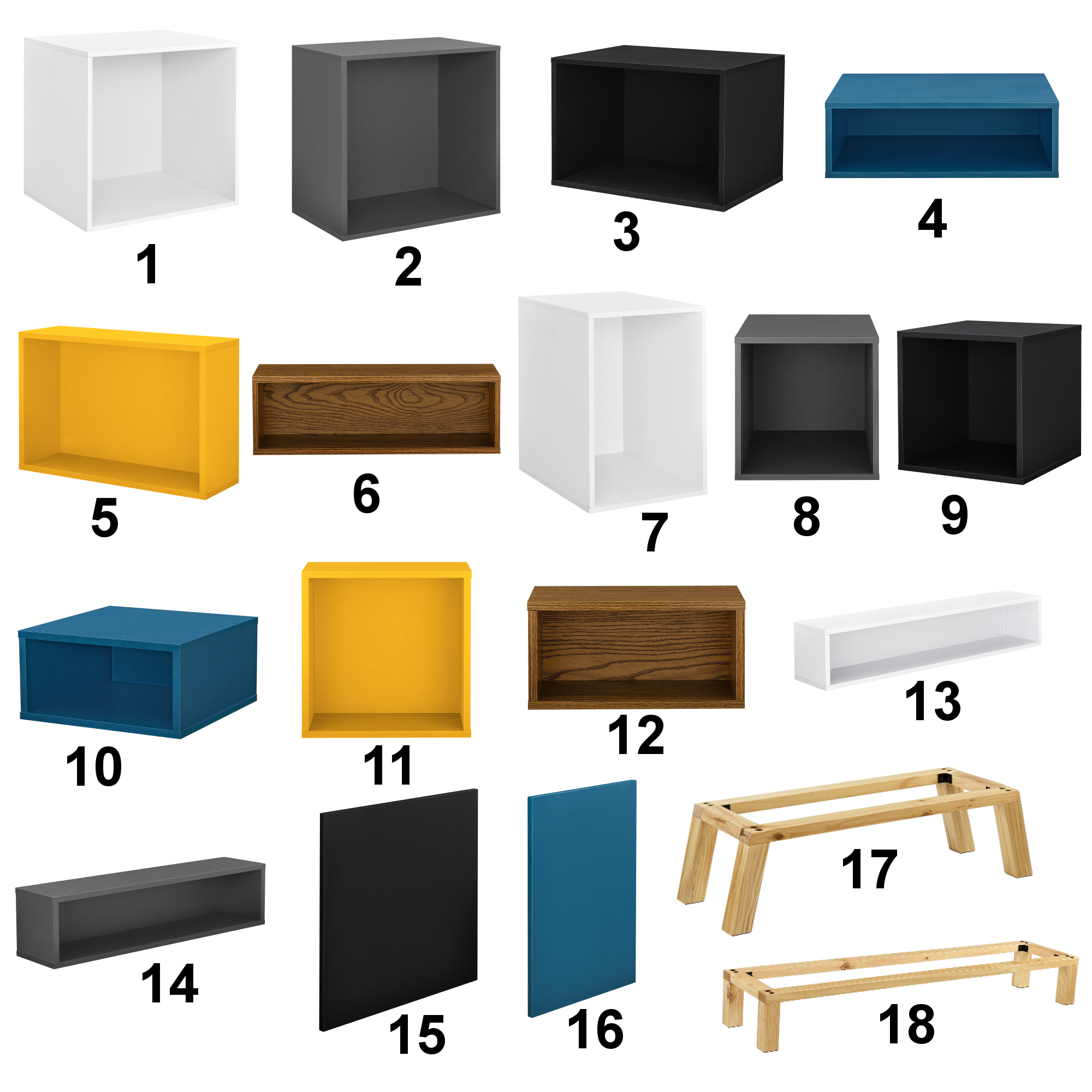 elements regal kommode wandregal h ngeregal schrank wandschrank ebay. Black Bedroom Furniture Sets. Home Design Ideas