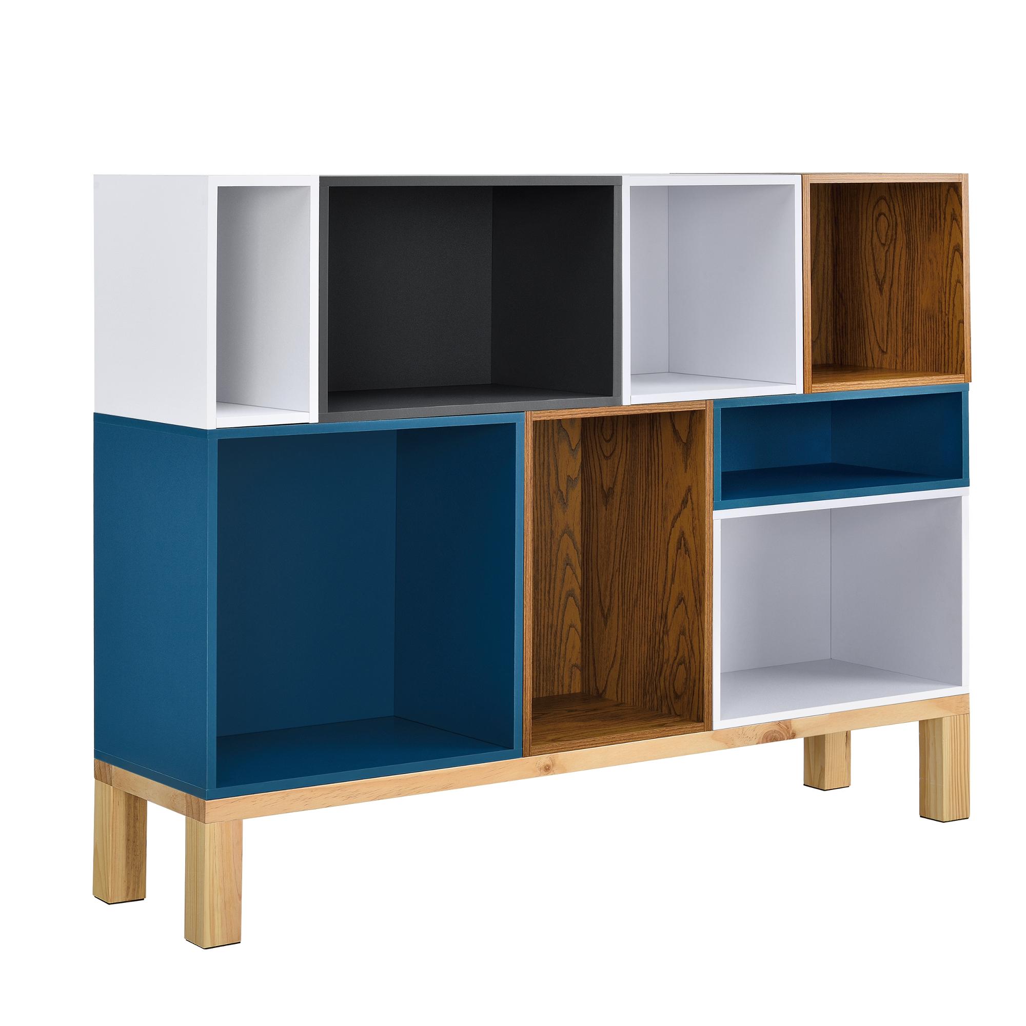 regal 60x15x15cm wei wandregal h ngeregal b cherregal kombinierbar ebay. Black Bedroom Furniture Sets. Home Design Ideas