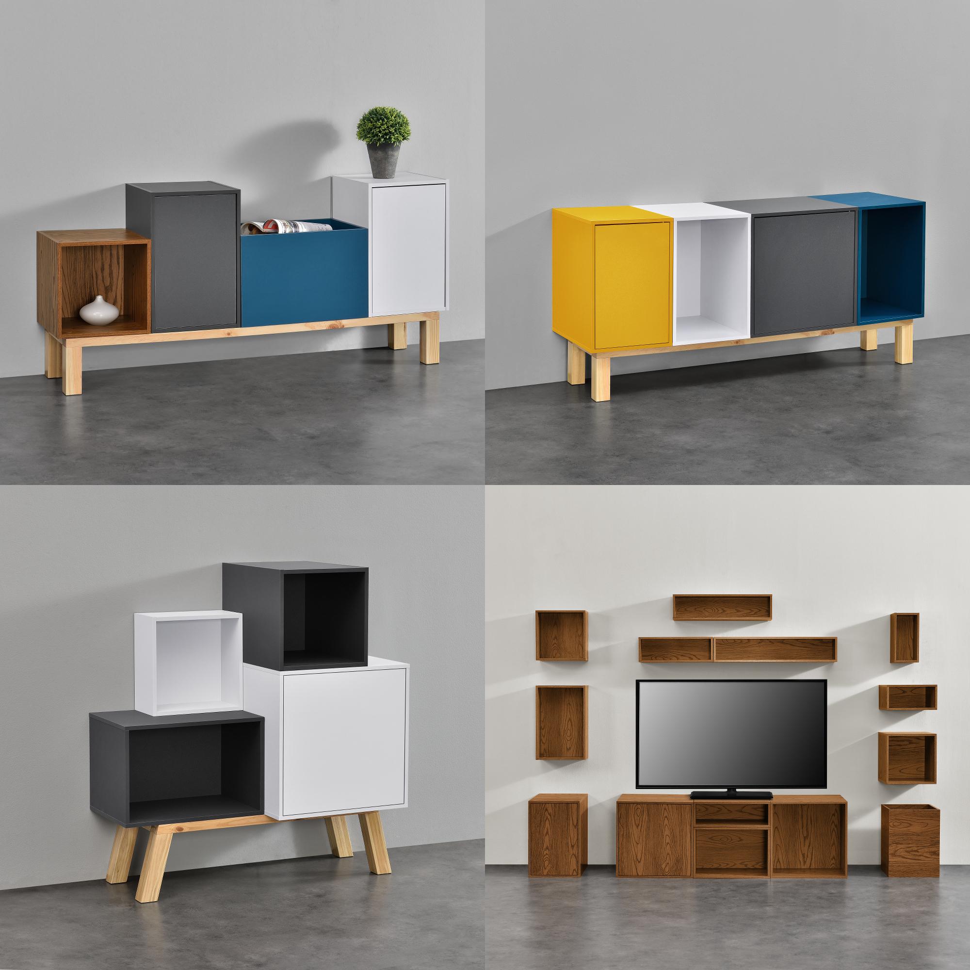 elements regal kommode wandregal h ngeregal schrank wandschrank ebay. Black Bedroom Furniture Sets. Home Design Ideas