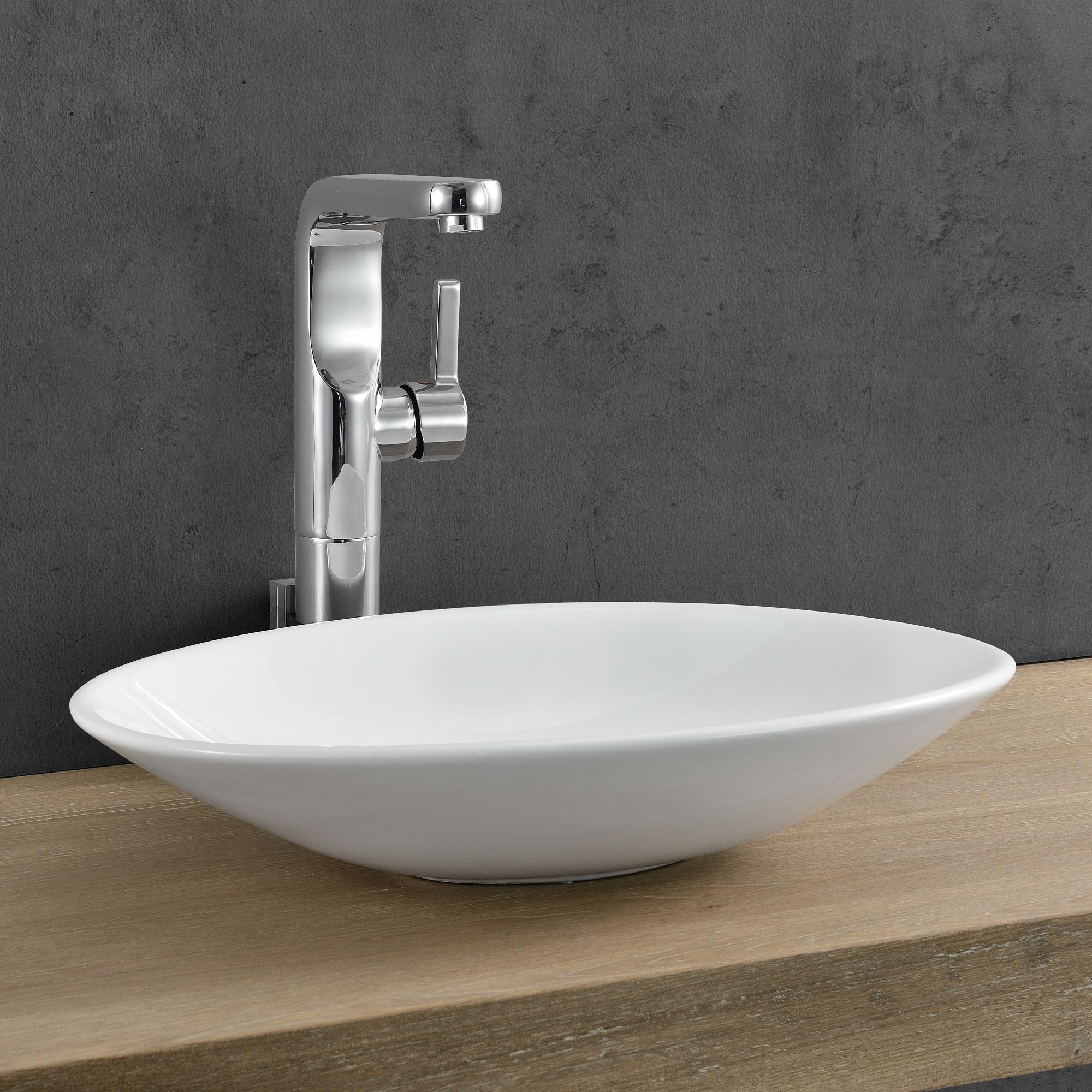 waschbecken oval aufsatz durovin luxury ceramic basin bowl modern design hand wash. Black Bedroom Furniture Sets. Home Design Ideas