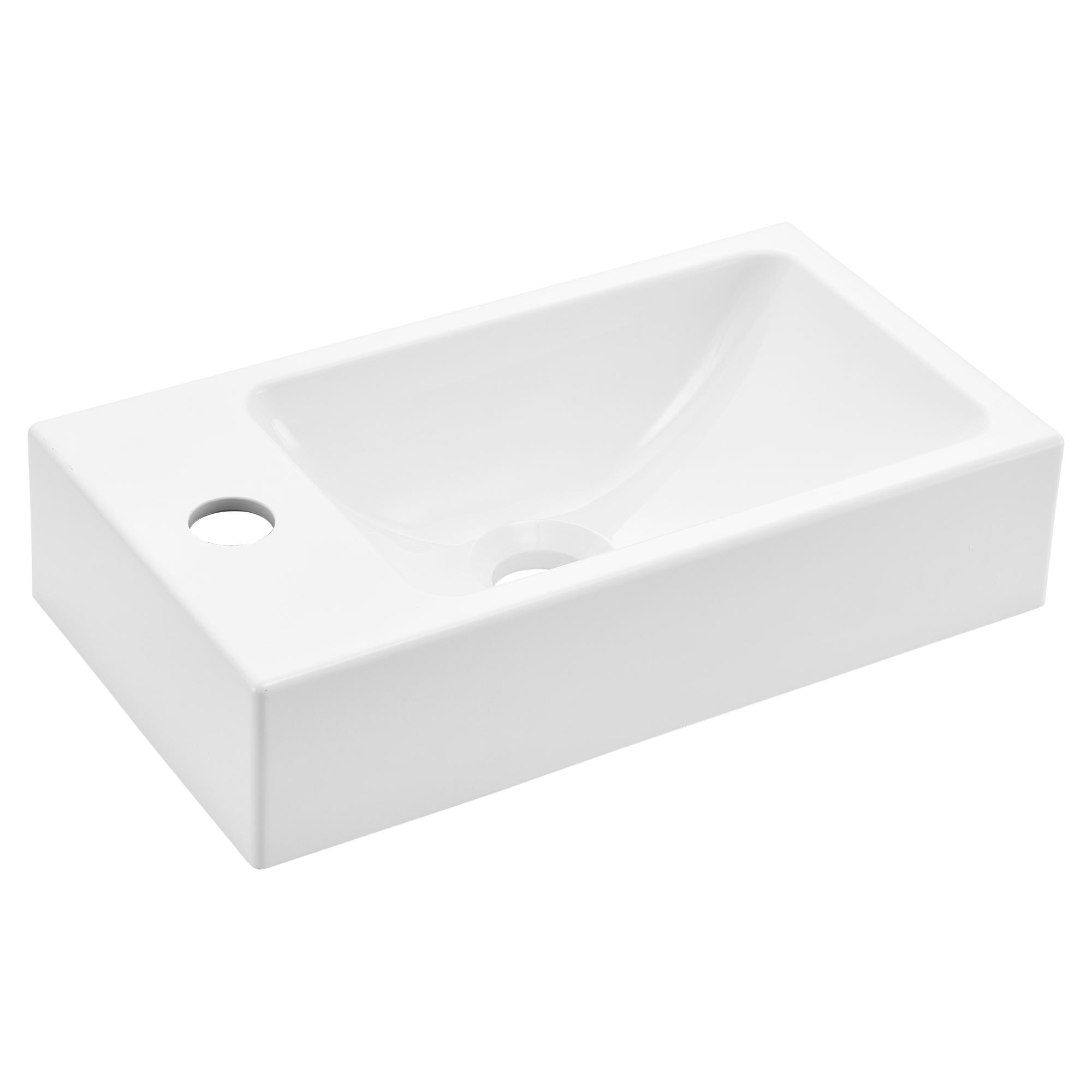 waschbecken wei schwarz aufsatzwaschbecken handwaschbecken g ste wc ebay. Black Bedroom Furniture Sets. Home Design Ideas