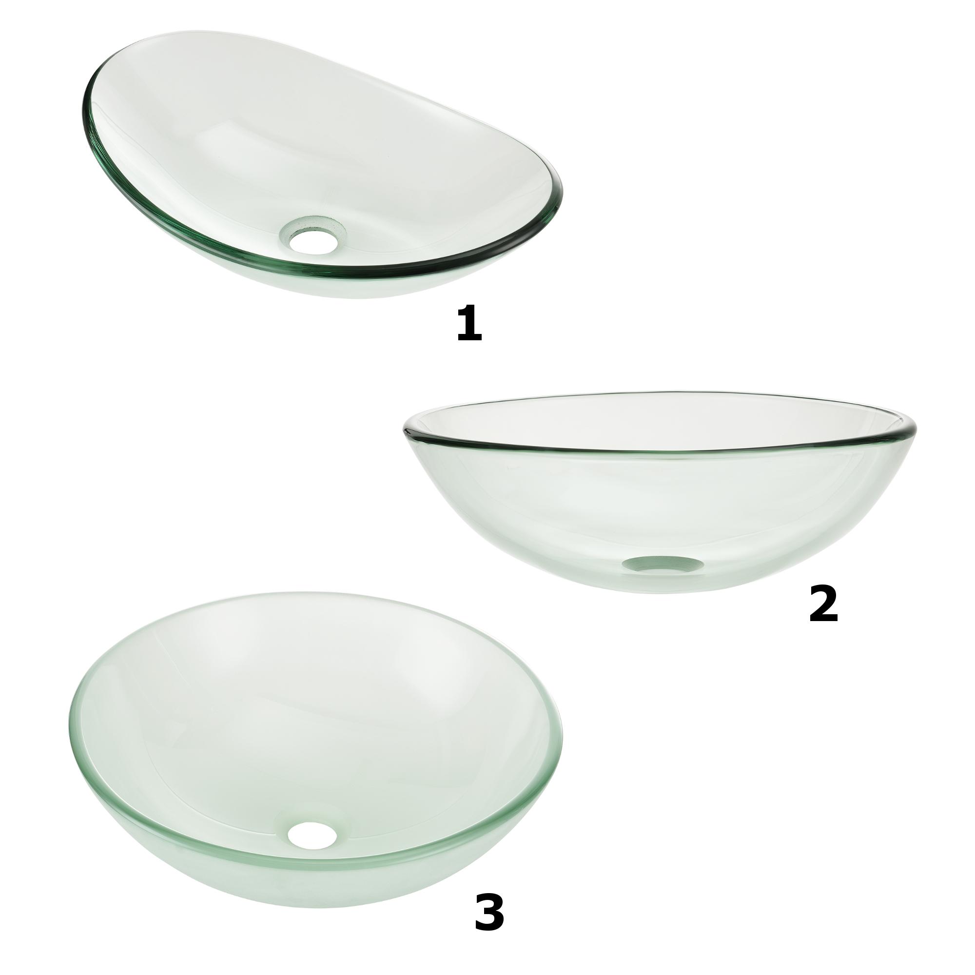 waschbecken oval waschschale glas waschtisch aufsatzbecken frosted ebay. Black Bedroom Furniture Sets. Home Design Ideas
