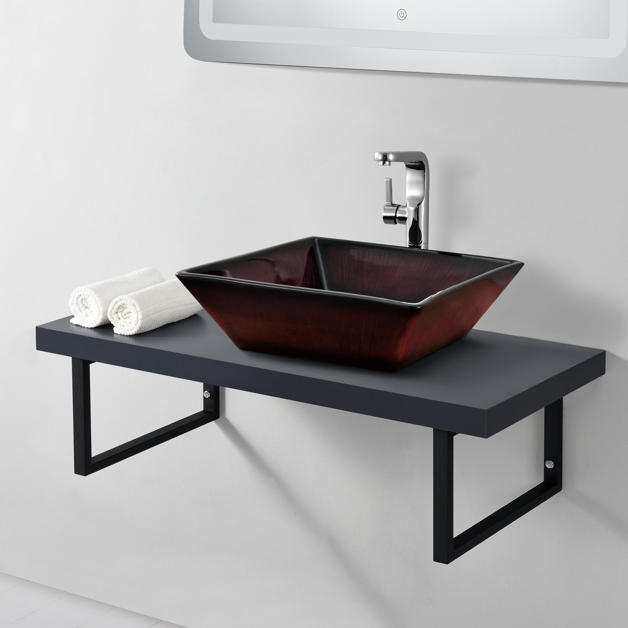 Neu Haus Waschtischplatte Waschtischkonsole Fur Aufsatzbecken Waschbecken Ebay