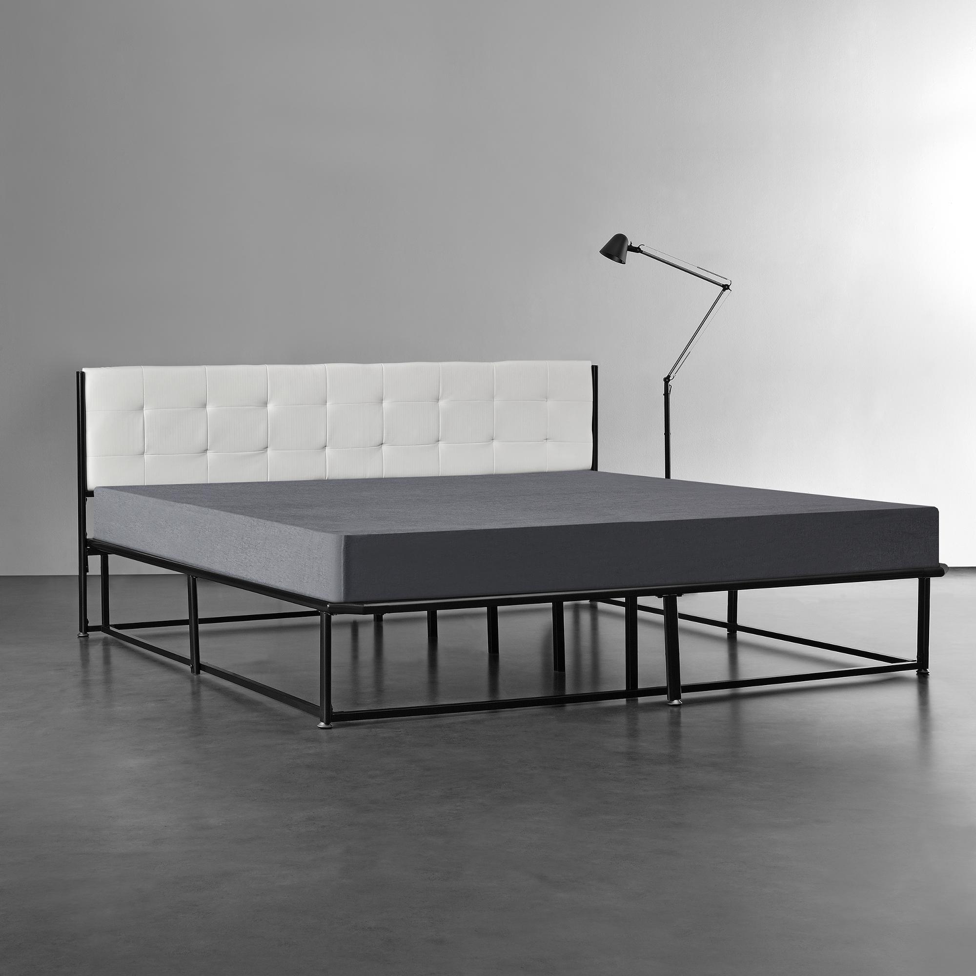 metallbett 180x200 schwarz bettgestell bett. Black Bedroom Furniture Sets. Home Design Ideas