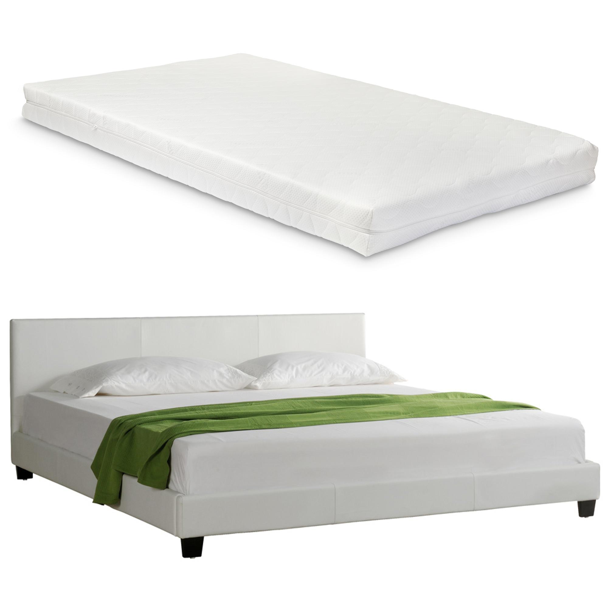 """Corium® Čalouněná postel """"Barcelona"""" s matrací HTB-1001"""