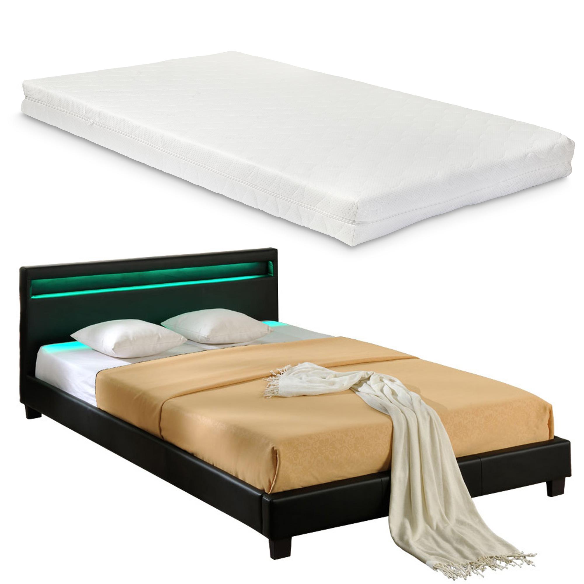 """Corium® Čalouněná postel """"Paris"""" s matrací HTB-1016"""