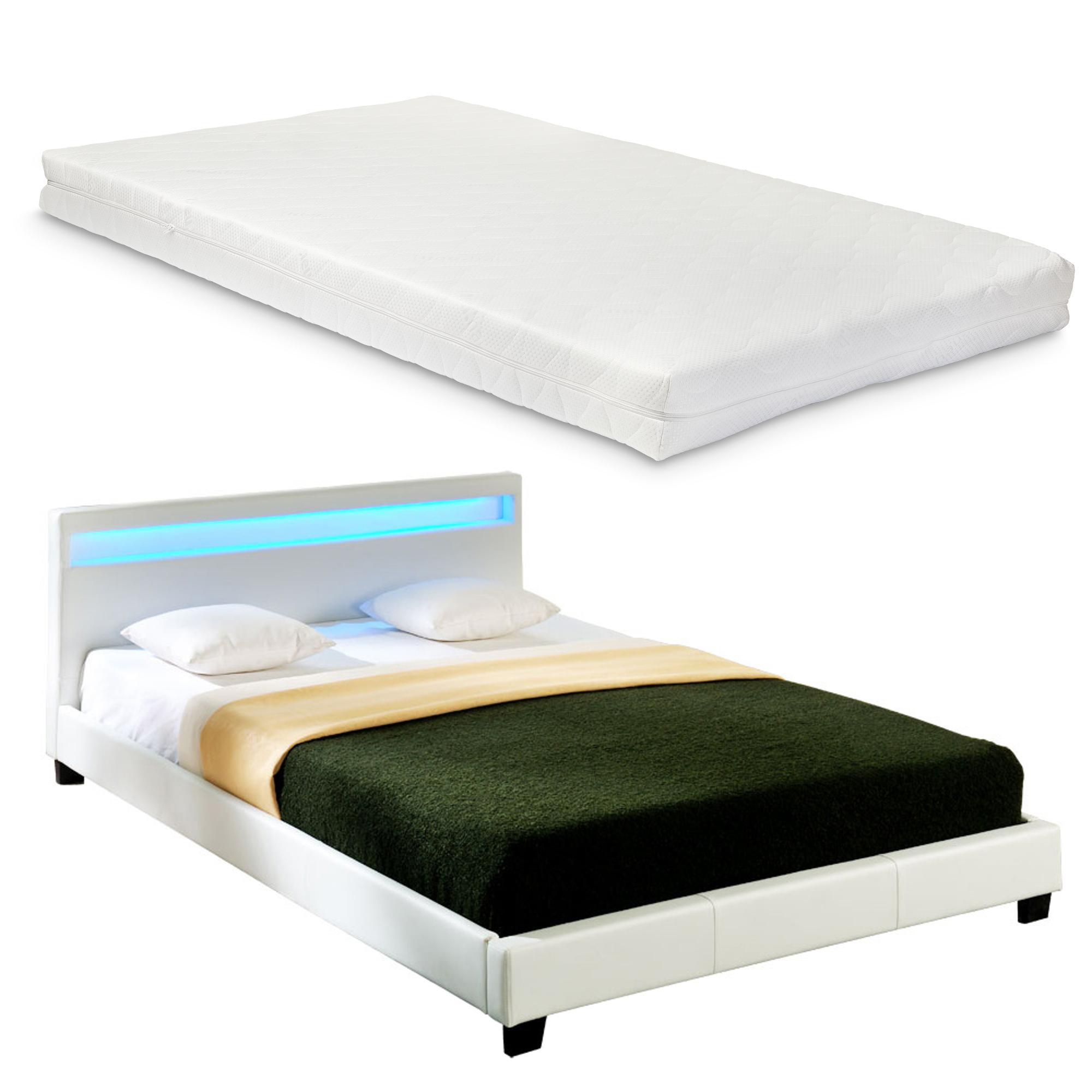 """Corium® Čalouněná postel """"Paris"""" s matrací HTB-1012"""