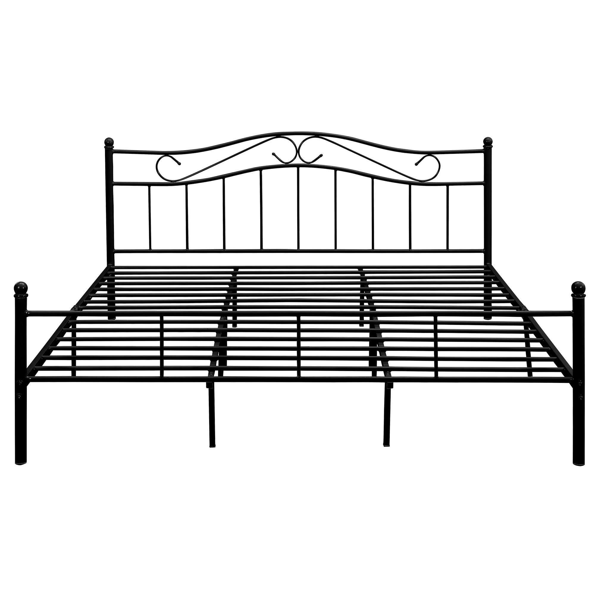 metallbett 140 160 180 200x200cm bett. Black Bedroom Furniture Sets. Home Design Ideas