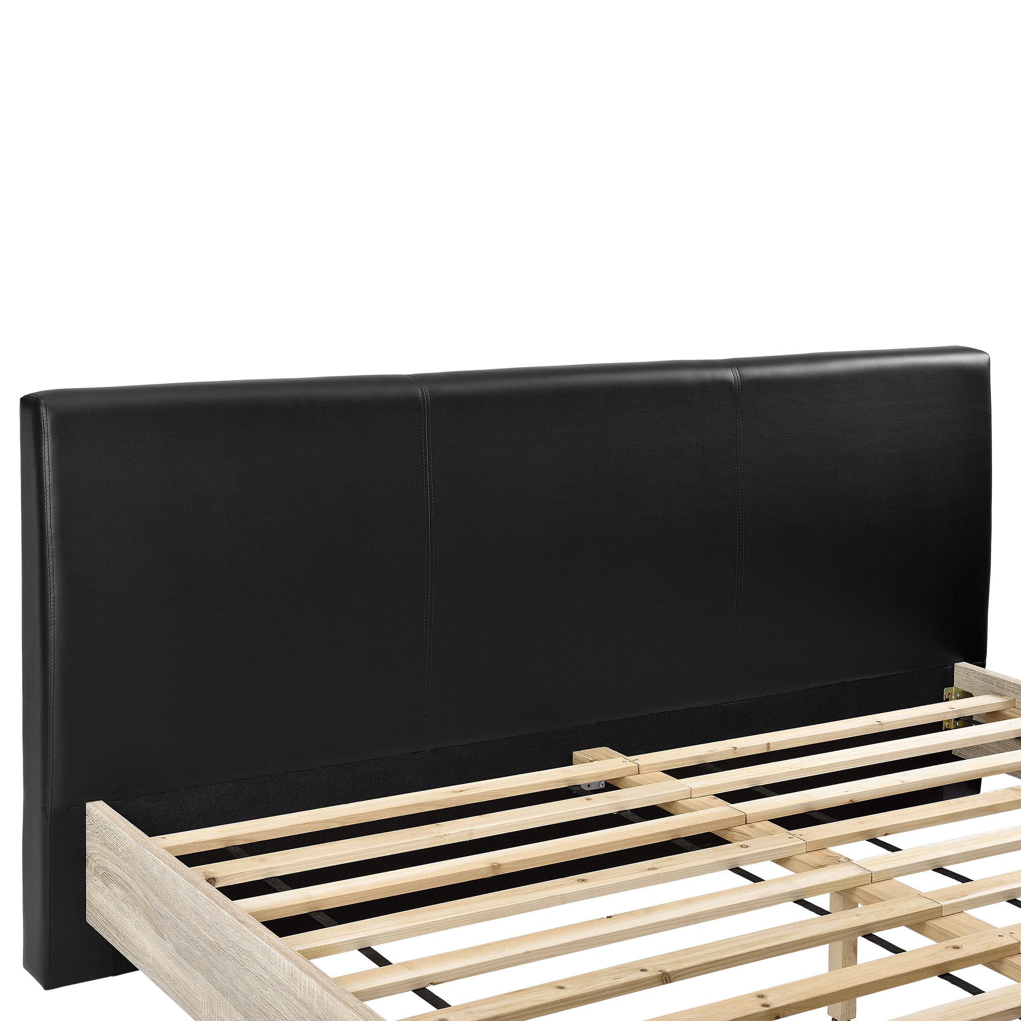 polsterbett 140 180 x 200cm bett bettgestell doppelbett ehebett holz ebay. Black Bedroom Furniture Sets. Home Design Ideas
