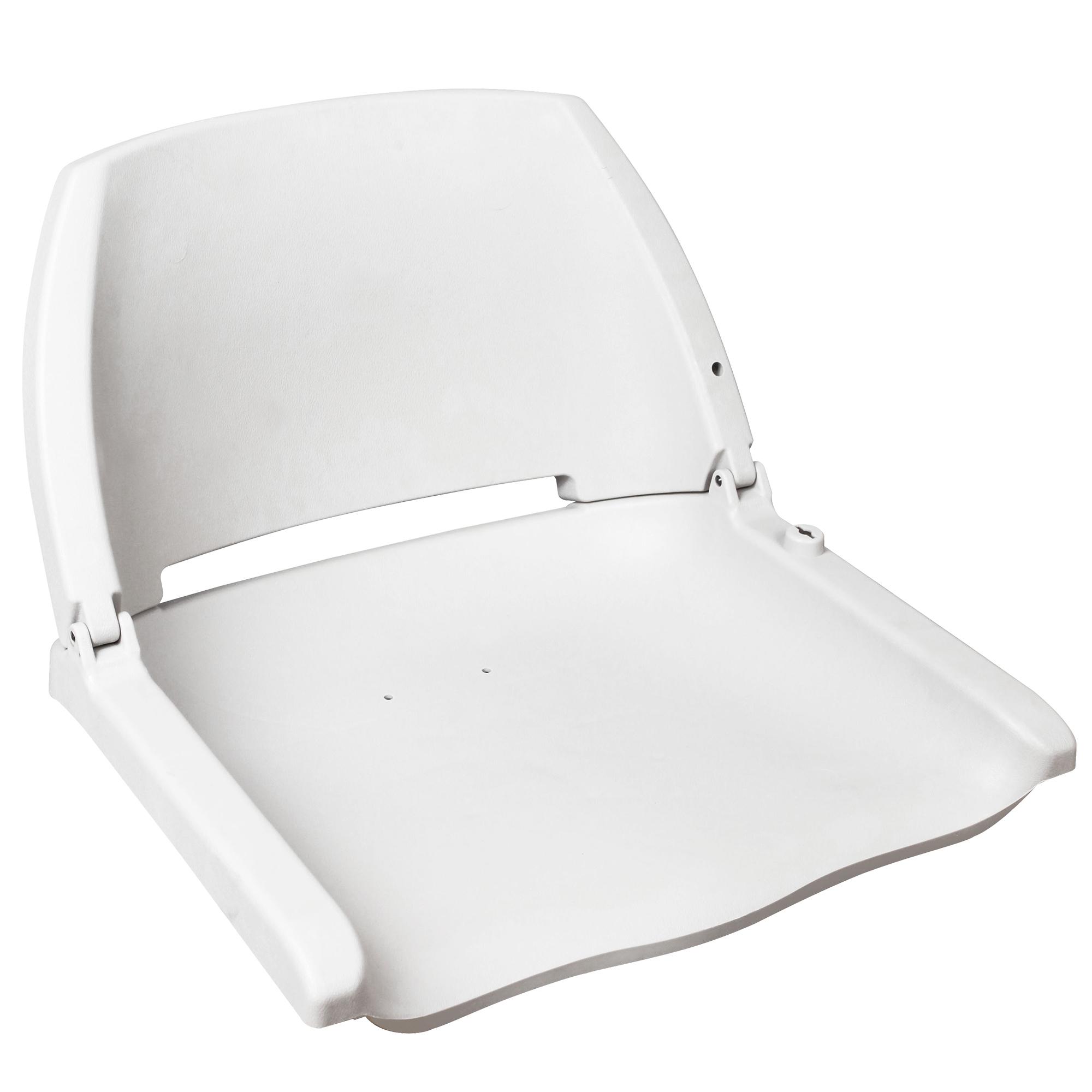 Boat Seat Stool : Pro tec boat seat helm fishing stool folding white