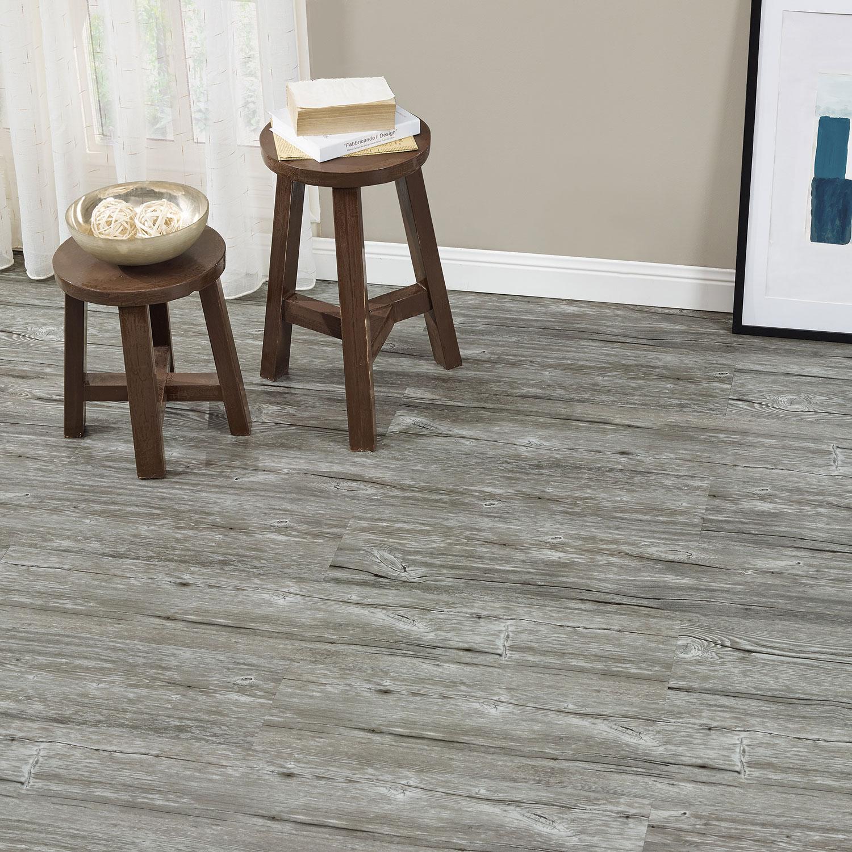 Neu.holz]® 1,114m² vinyl laminat dielen planken eiche grau ...