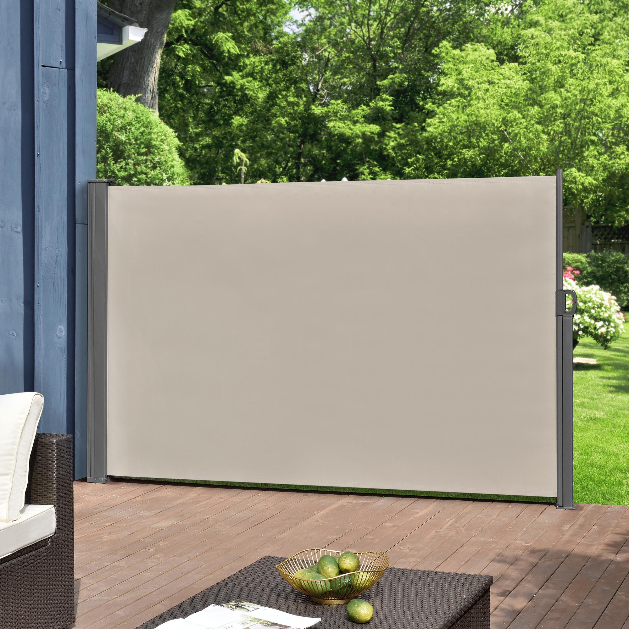 seitenmarkise sichtschutz seitenwand markise sonnenschutz windschutz ebay. Black Bedroom Furniture Sets. Home Design Ideas