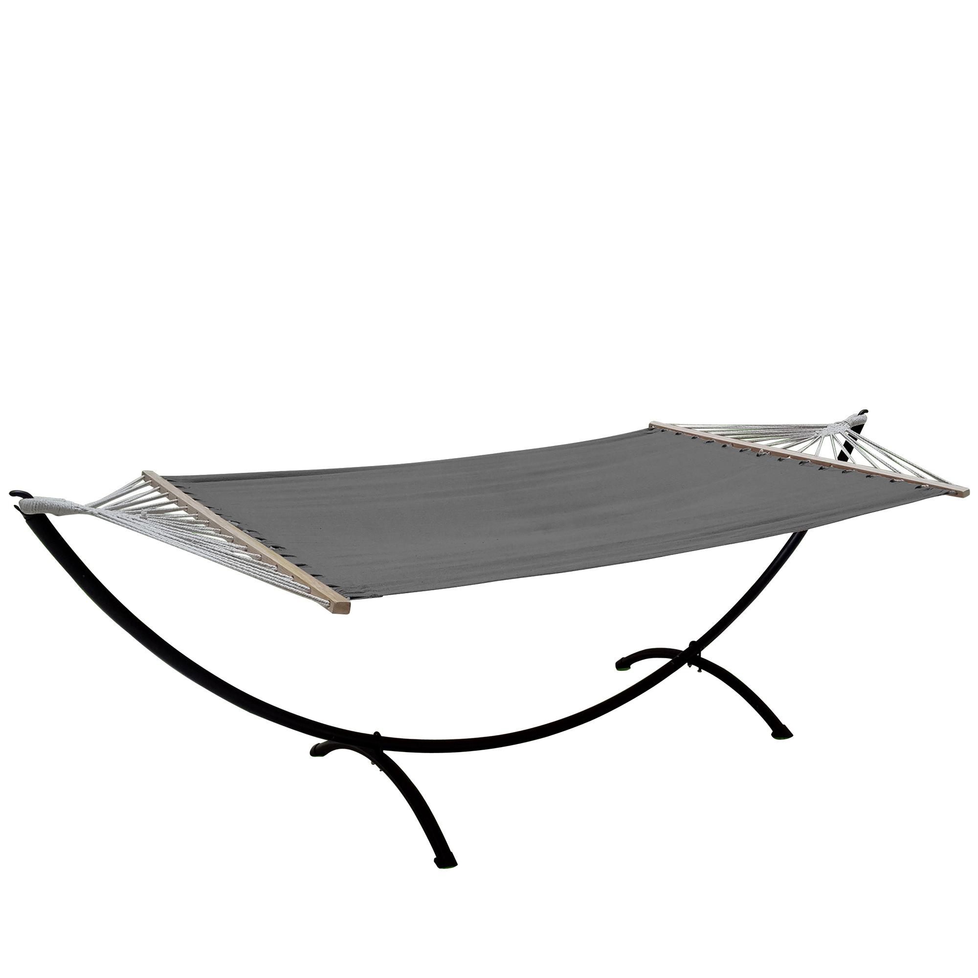 xxl mehrpersonen h ngematte 200kg grau. Black Bedroom Furniture Sets. Home Design Ideas