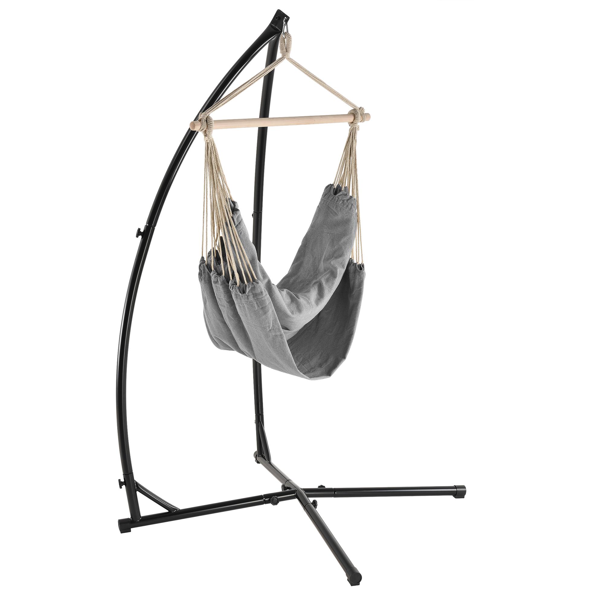 gestell fr hngesessel awesome kobolo hngestuhl hngekorb hngesessel belfi mit gestell. Black Bedroom Furniture Sets. Home Design Ideas