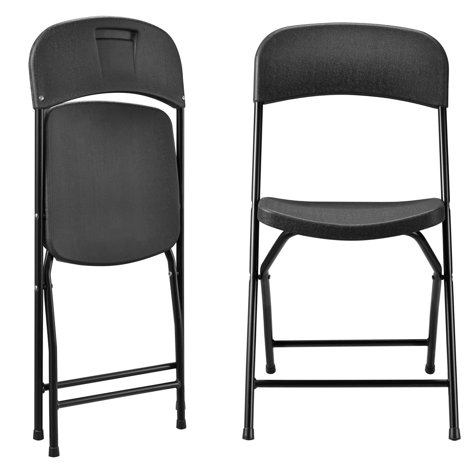 casa.pro]® table + 2 chaises + bancs gris ensemble de table camping ...