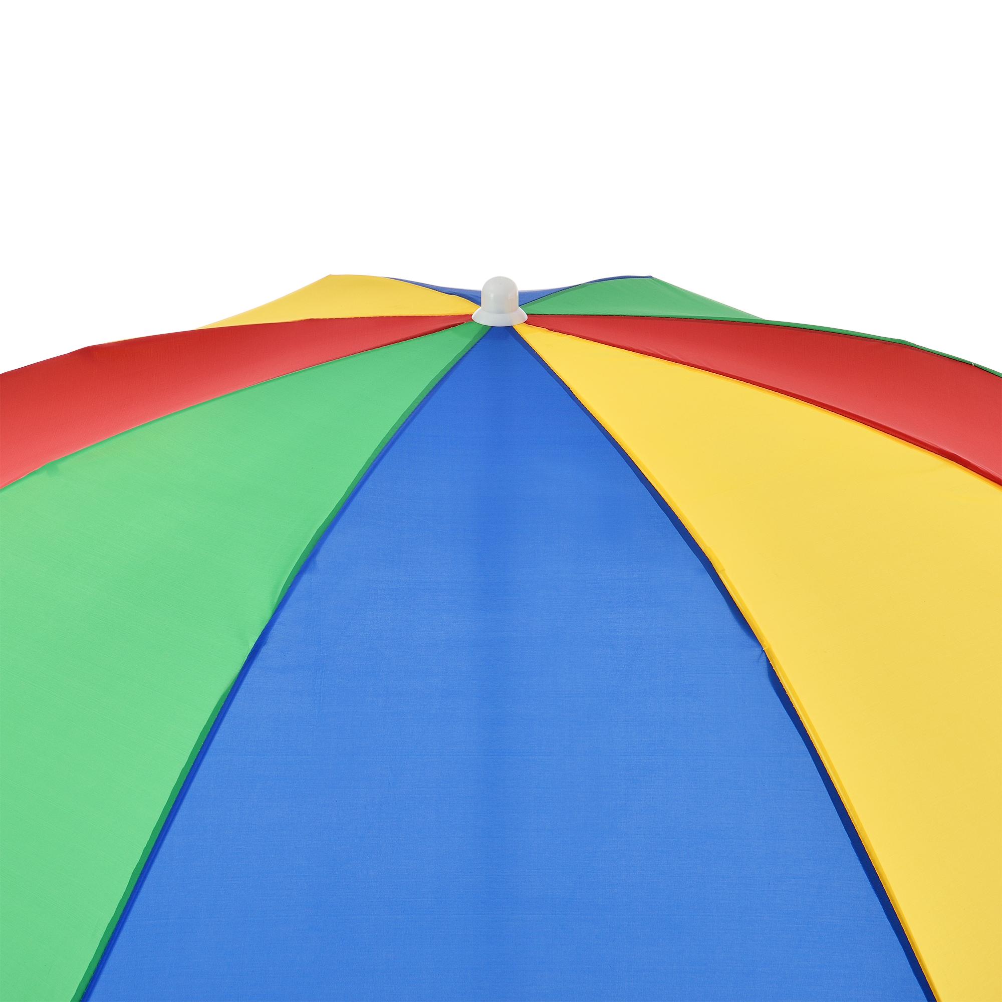 Len Schirm casa pro strandschirm ø180cm bunt sonnenschirm schirm gartenschirm knickgelenk ebay