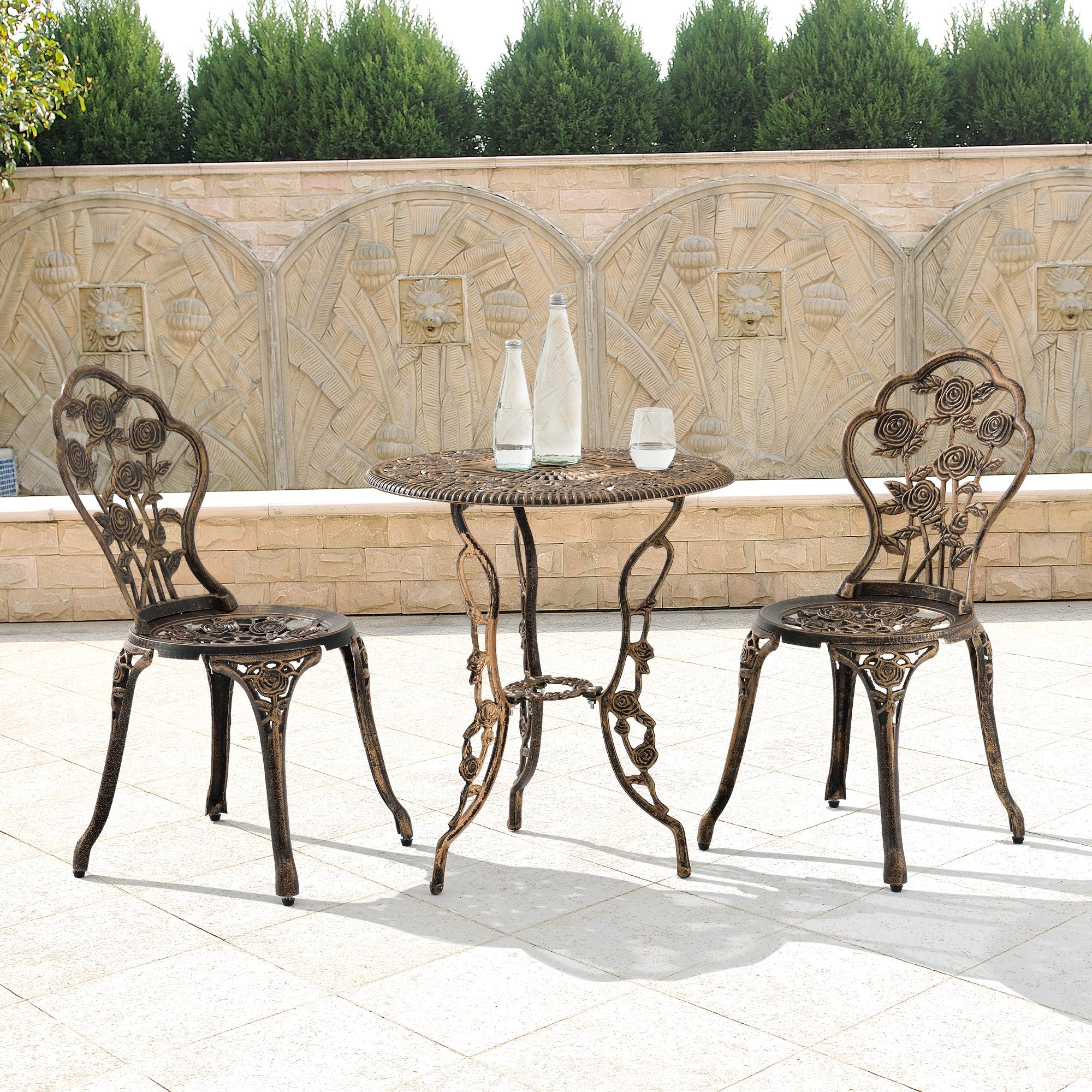 [en.casa] Esstisch Rund Weiß [H:75cmxØ80cm] Holz Tisch