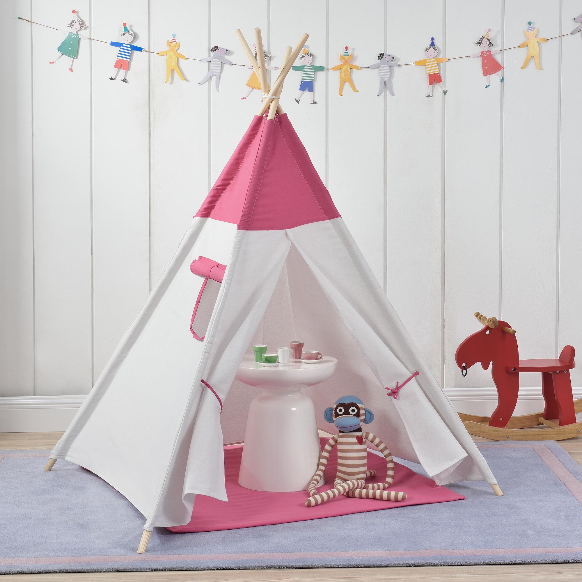 en.casa]® Kinderzelt Spielzelt Babyzelt Spielhaus Kinder Tipi ...
