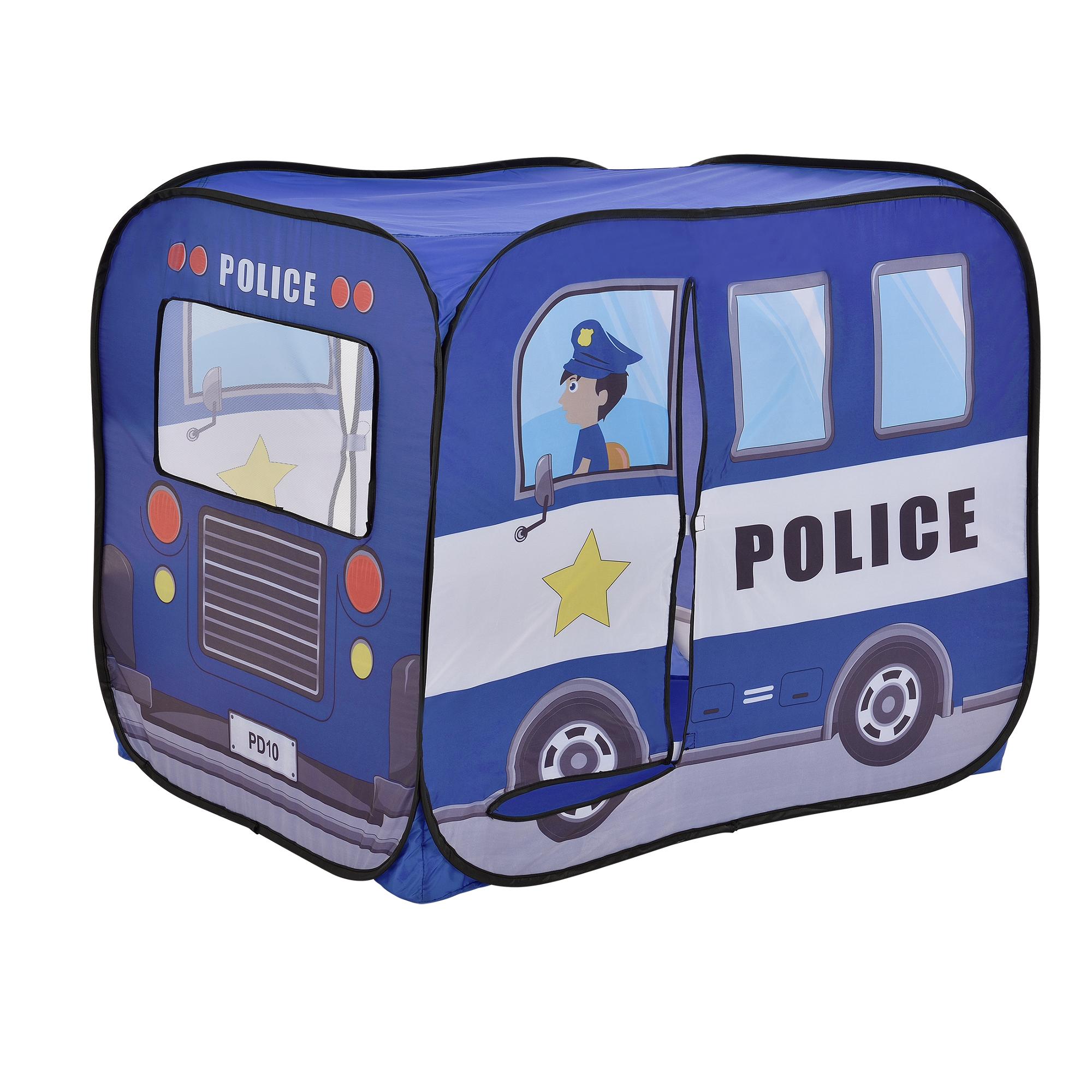 [casa.pro]® Dětský stan - policejní vůz - AAST-4501