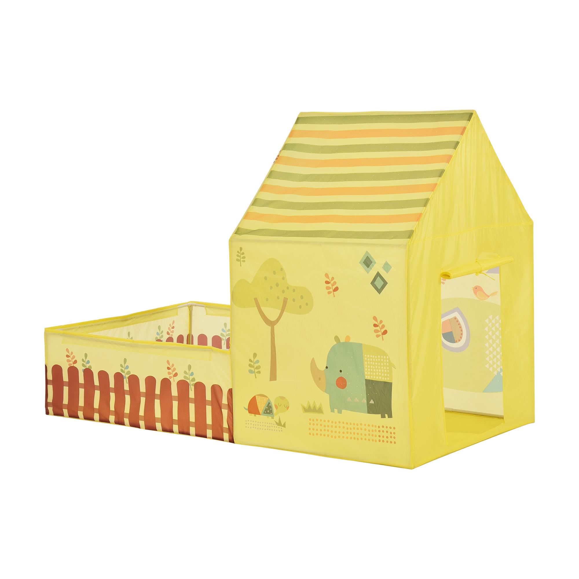 [casa.pro]® Dětský stan - domeček s dvorem - AAST-4506
