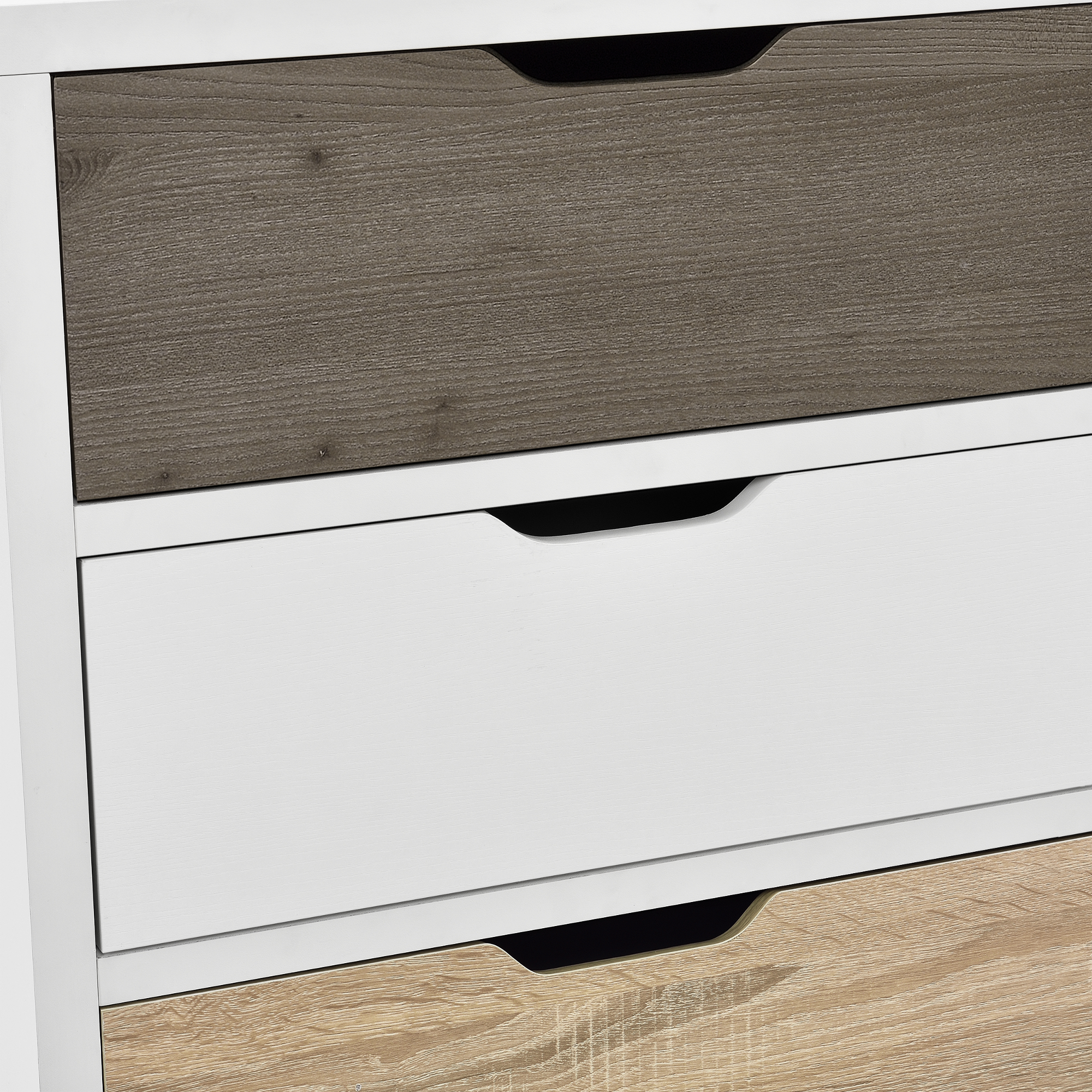 design commode buffet armoire blanc ch ne table d 39 appoint highboard ebay. Black Bedroom Furniture Sets. Home Design Ideas