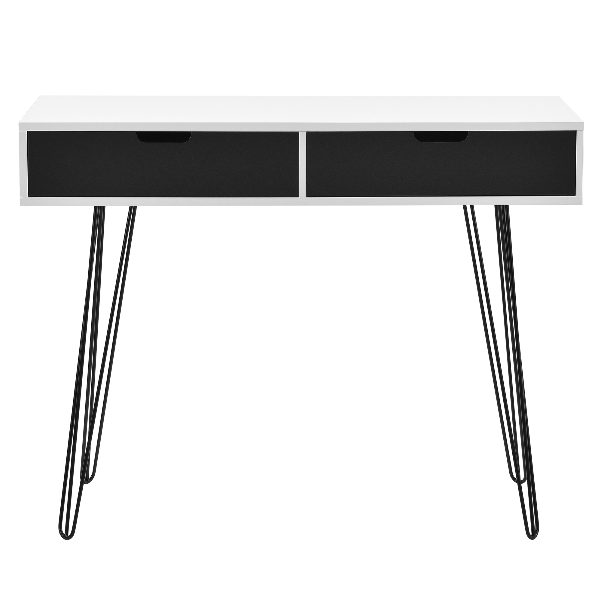 bureau blanc gris console secr taire buffet bureau beistell table ebay. Black Bedroom Furniture Sets. Home Design Ideas