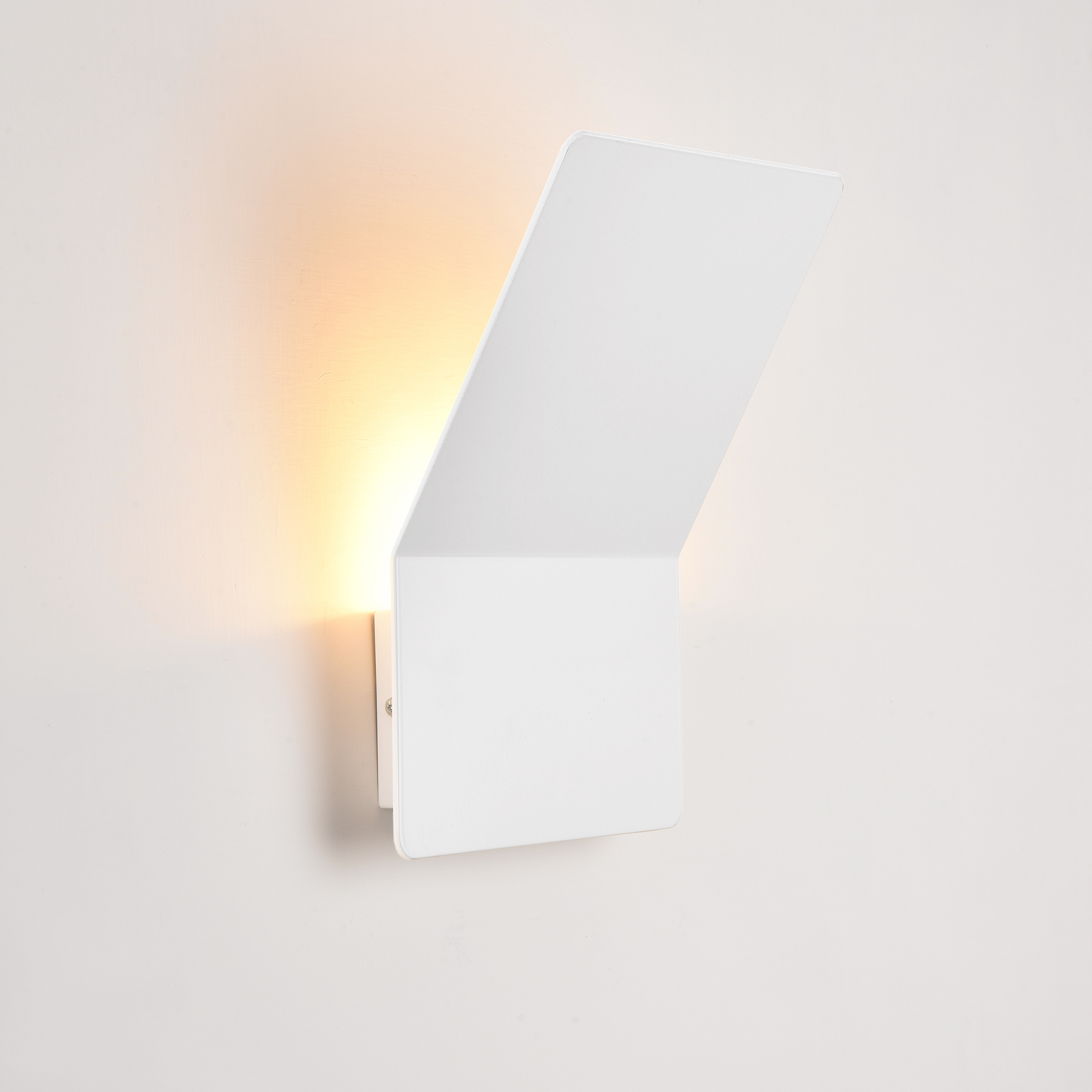 Wohnzimmerlampe Flurlampe Wandlampe modern Eckige Design LED Wandleuchte ALINE