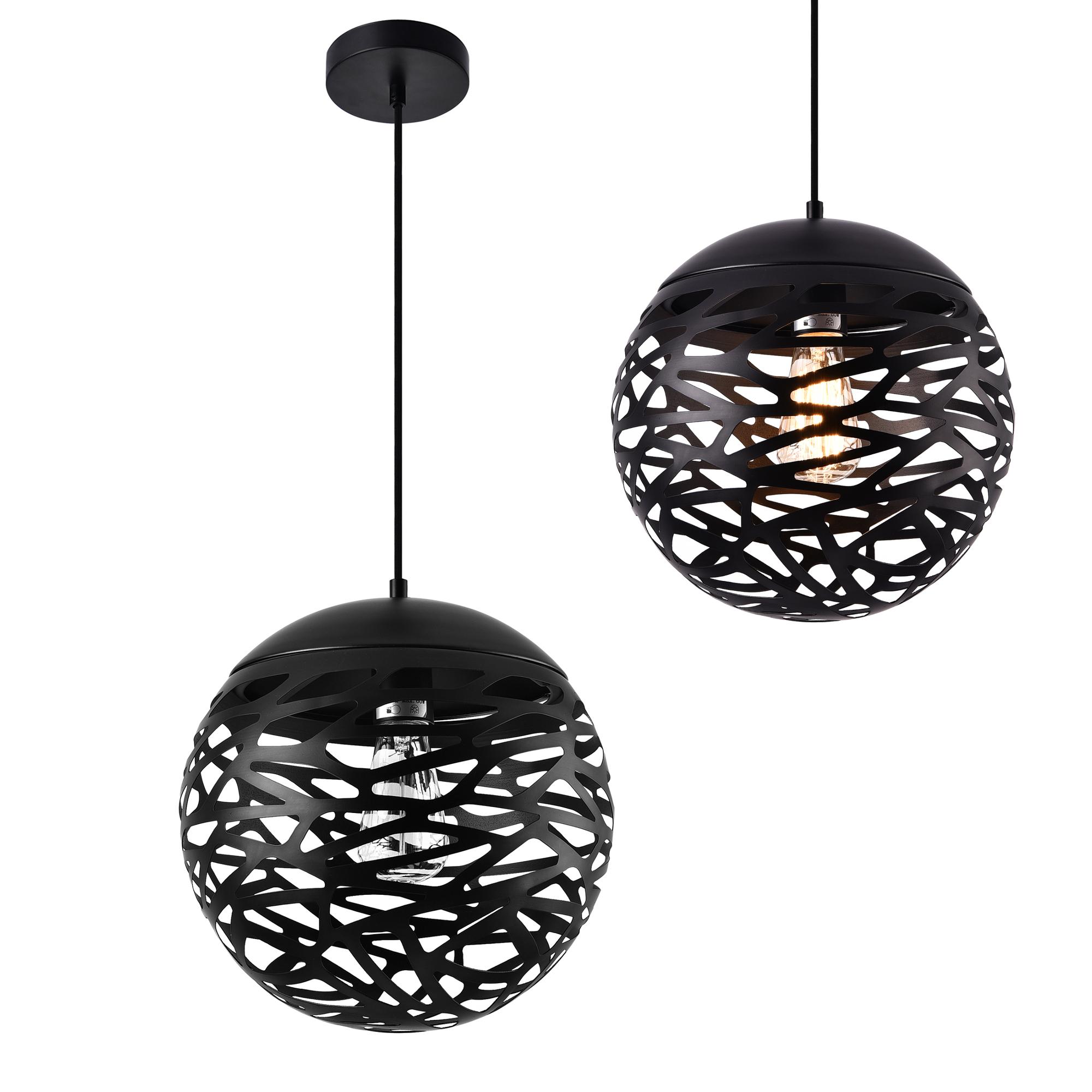 h ngeleuchte metall industrie deckenleuchte leuchte pendelleuchte ebay. Black Bedroom Furniture Sets. Home Design Ideas