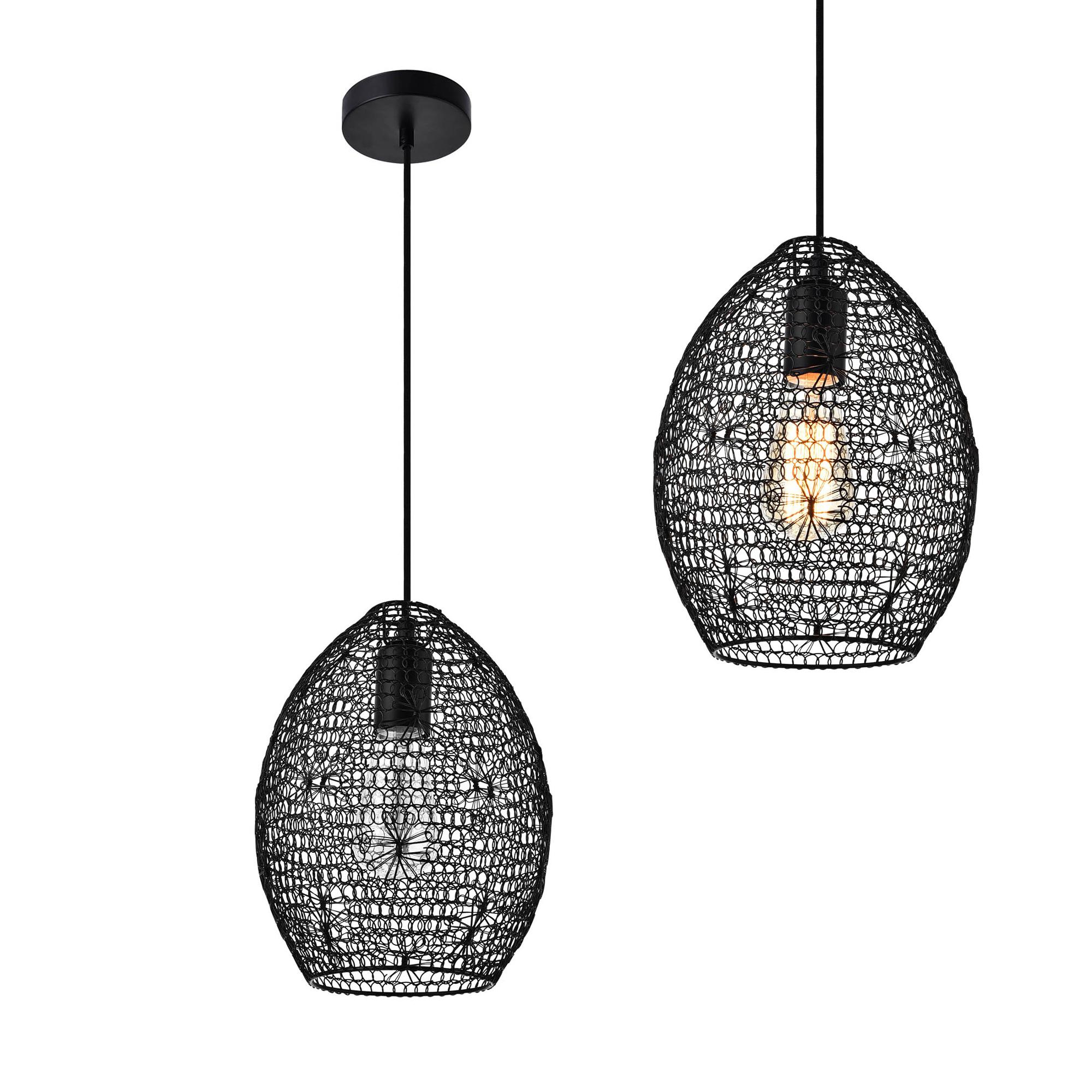 h ngeleuchte metall industrie deckenleuchte. Black Bedroom Furniture Sets. Home Design Ideas