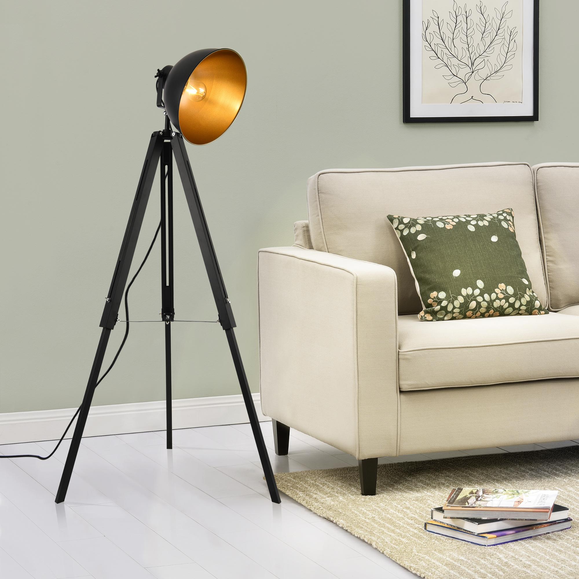 lampadaire tr pied avec abatjour design. Black Bedroom Furniture Sets. Home Design Ideas