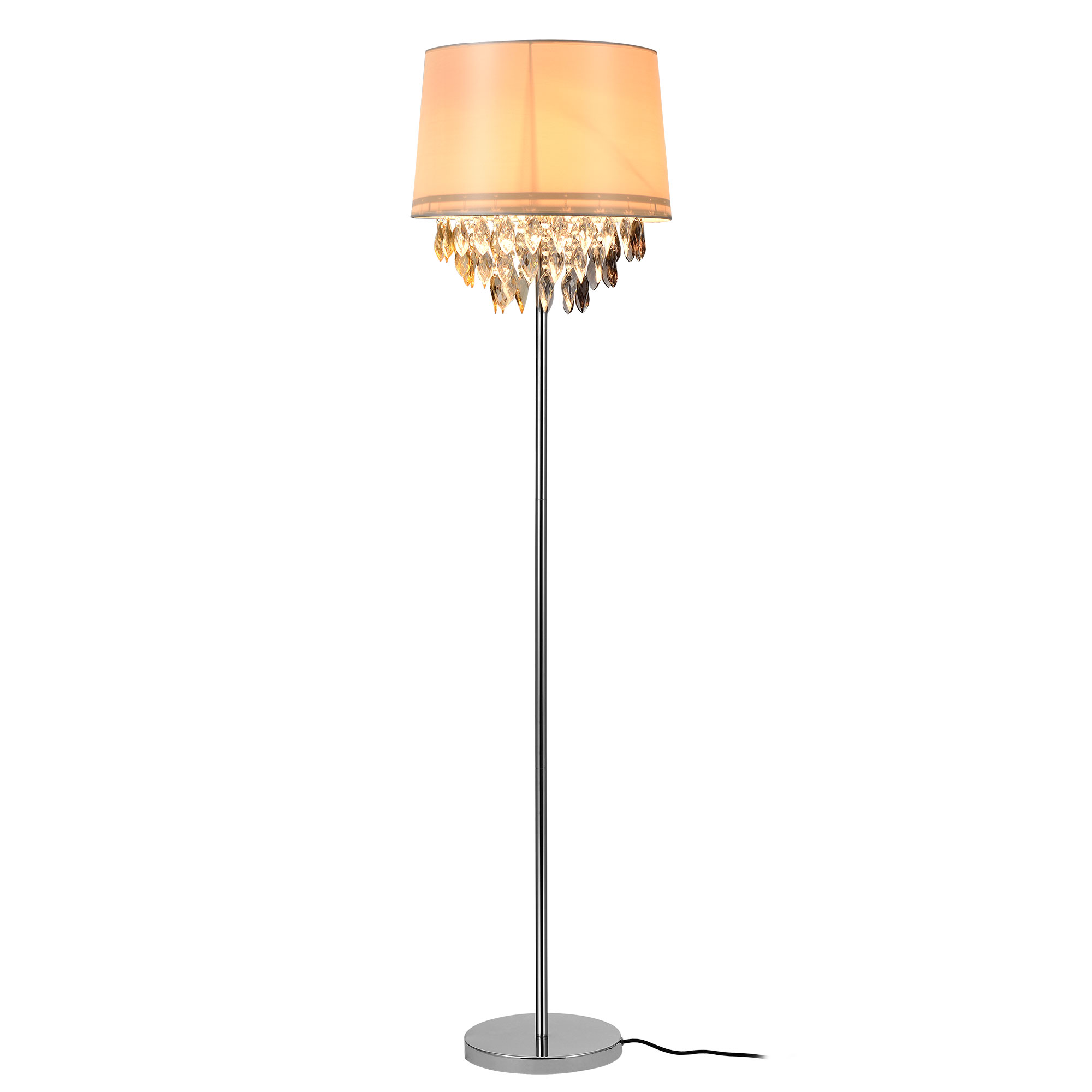 luxpro lampadaire lampadaire lampe lampadaire lampe lumi re de salon cristal ebay. Black Bedroom Furniture Sets. Home Design Ideas