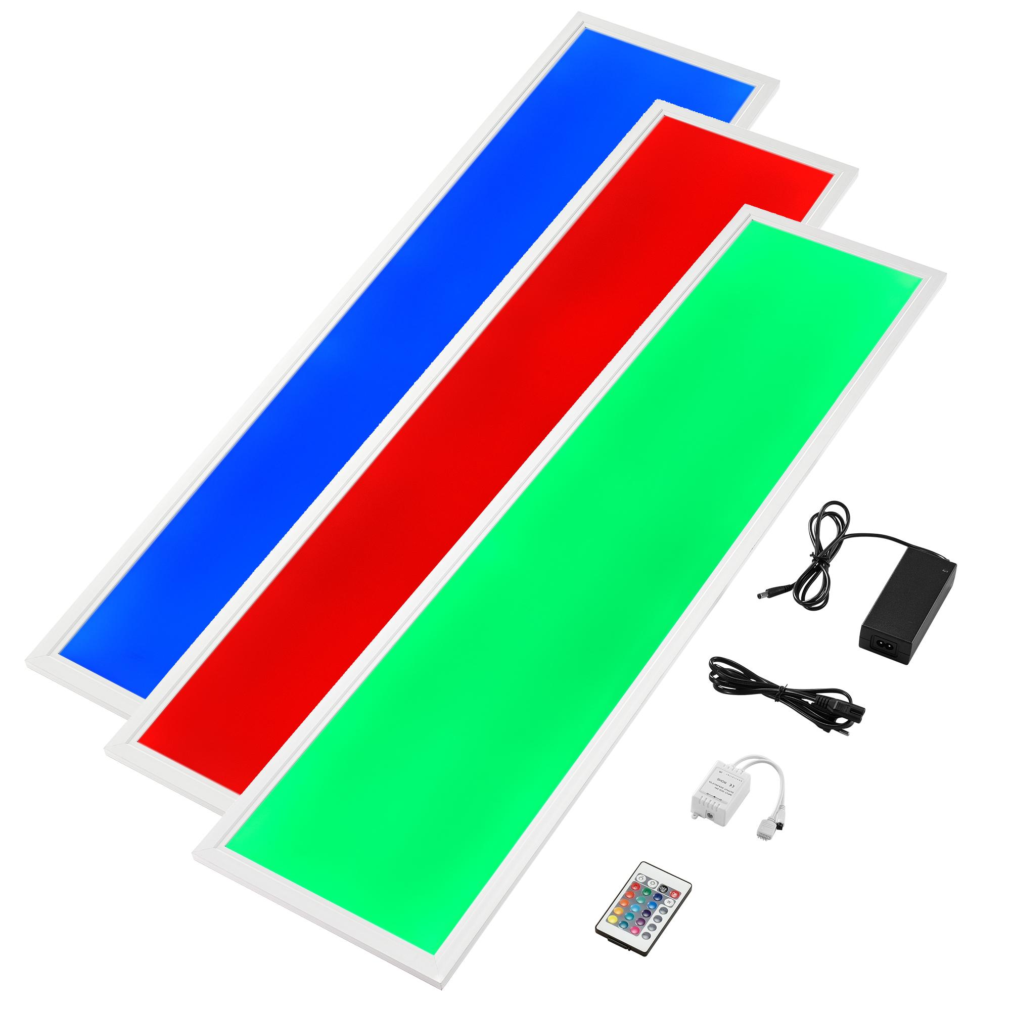 hi power led panel rund warm neutral wei ultraslim rgb einbauleuchte ebay. Black Bedroom Furniture Sets. Home Design Ideas