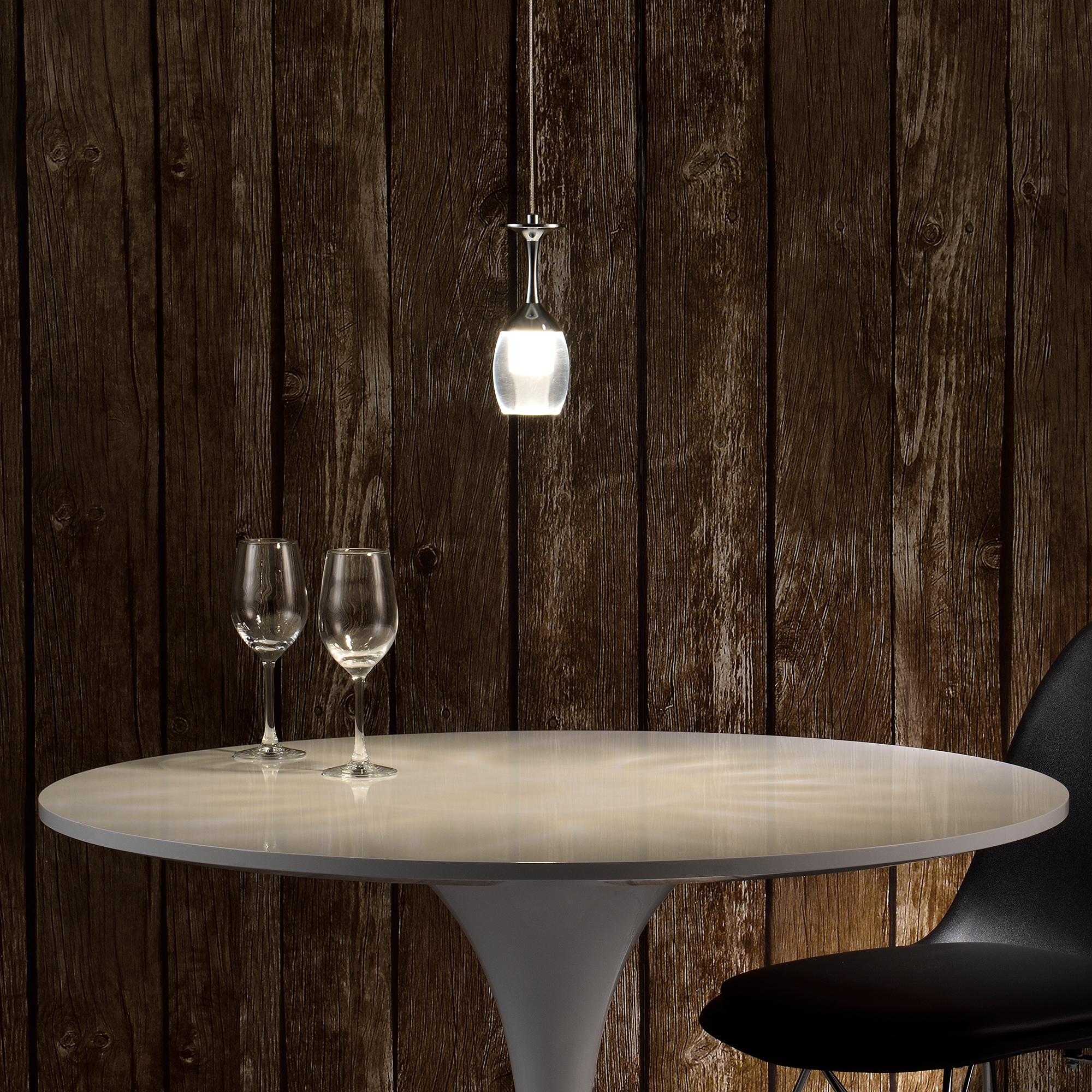 Hänge Leuchte Led Glas 20 Watt Lampe Lxbxh 1000x120x1650: [lux.pro] LED Deckenleuchte Design Hängeleuchte