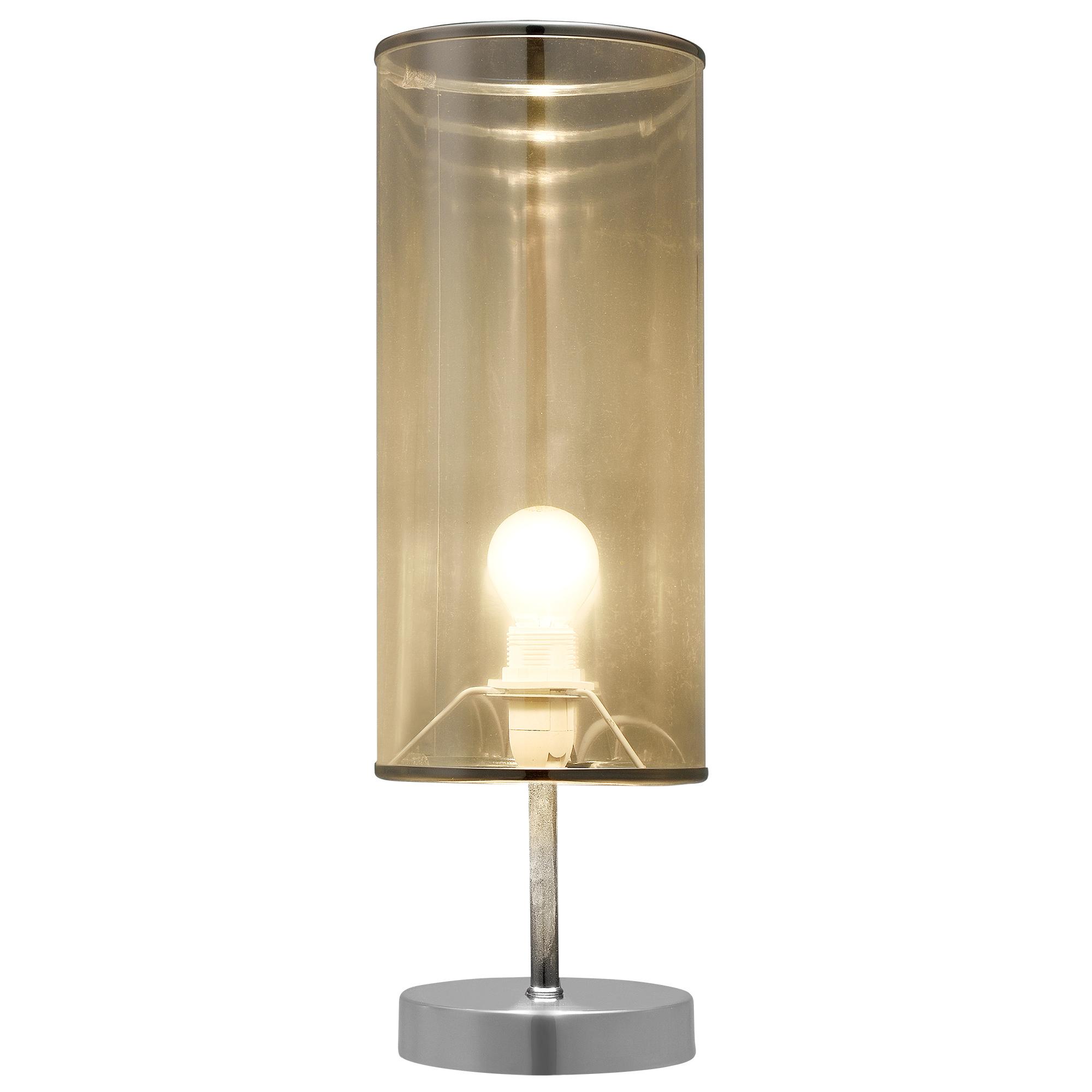 lampe de table h44cm x 14cm lampe de chevet table de nuit lampe e14 ebay. Black Bedroom Furniture Sets. Home Design Ideas