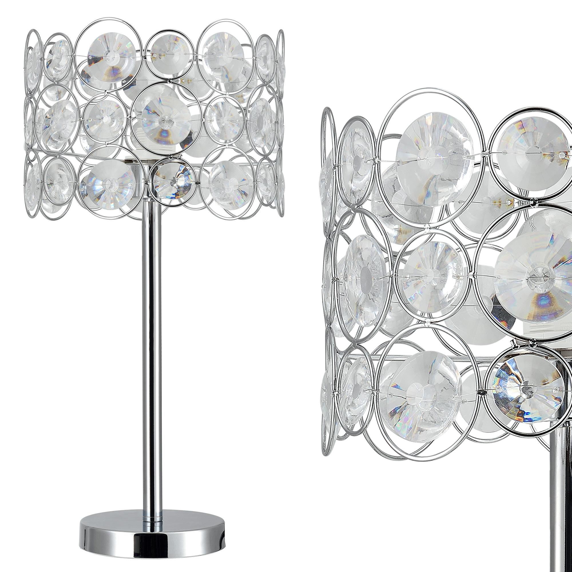 [lux.pro]® Elegantní stolní lampa – noční lampa - Dora / 1 x E27