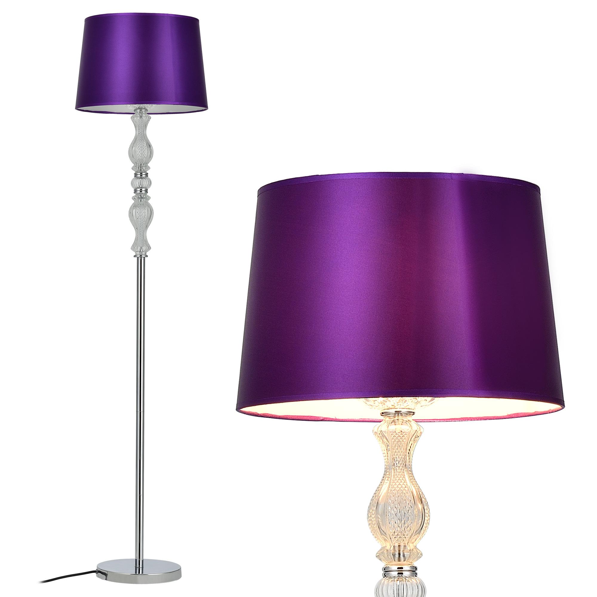 Edel Stehleuchte Stehlampe Lampe Wohnzimmerlampe Leuchte Standleuchte Kristall