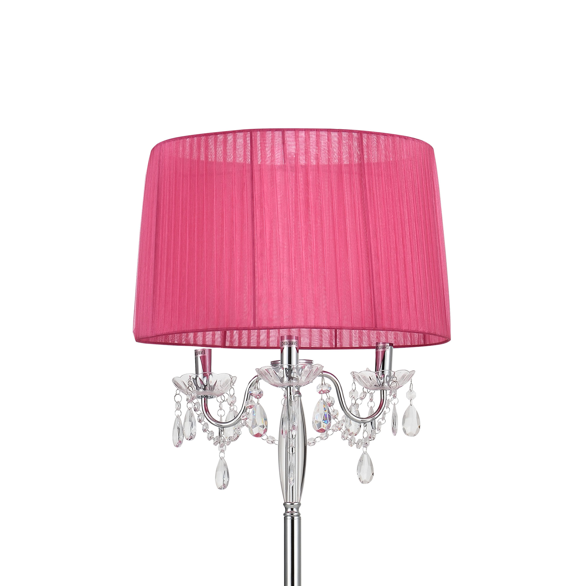 lux.pro]® luce a stelo lampada a stelo da soggiorno luce lampada ... - Soggiorno Fucsia 2