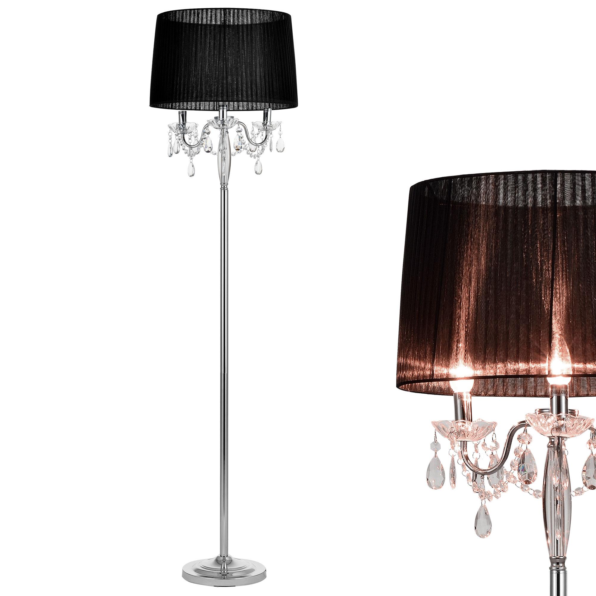 Edel stehleuchte stehlampe lampe wohnzimmerlampe leuchte edel stehleuchte stehlampe lampe wohnzimmerlampe leuchte standleuchte kristall parisarafo Gallery