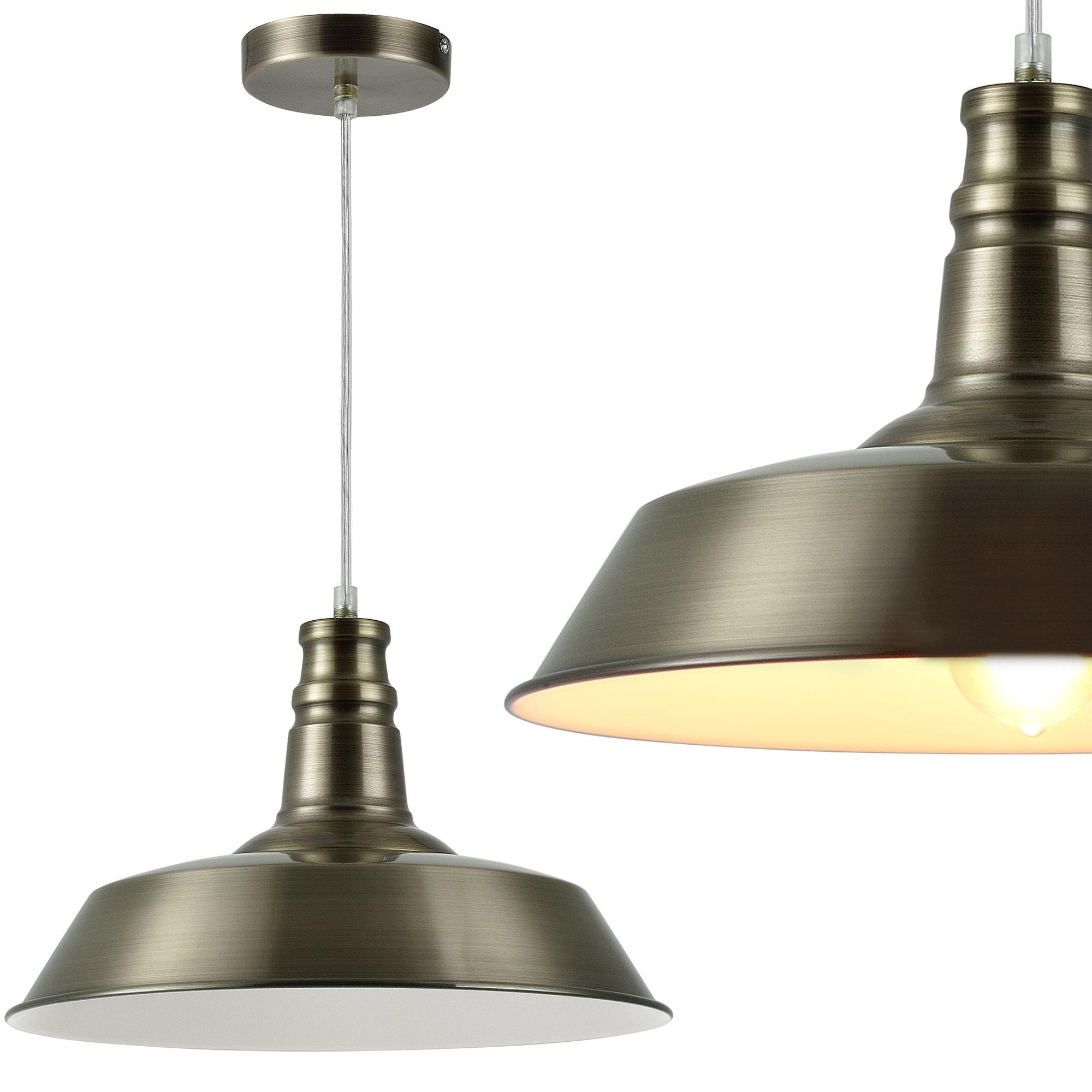 Deckenleuchte schwarz metall gitter vintage for Lampe suspendu noir