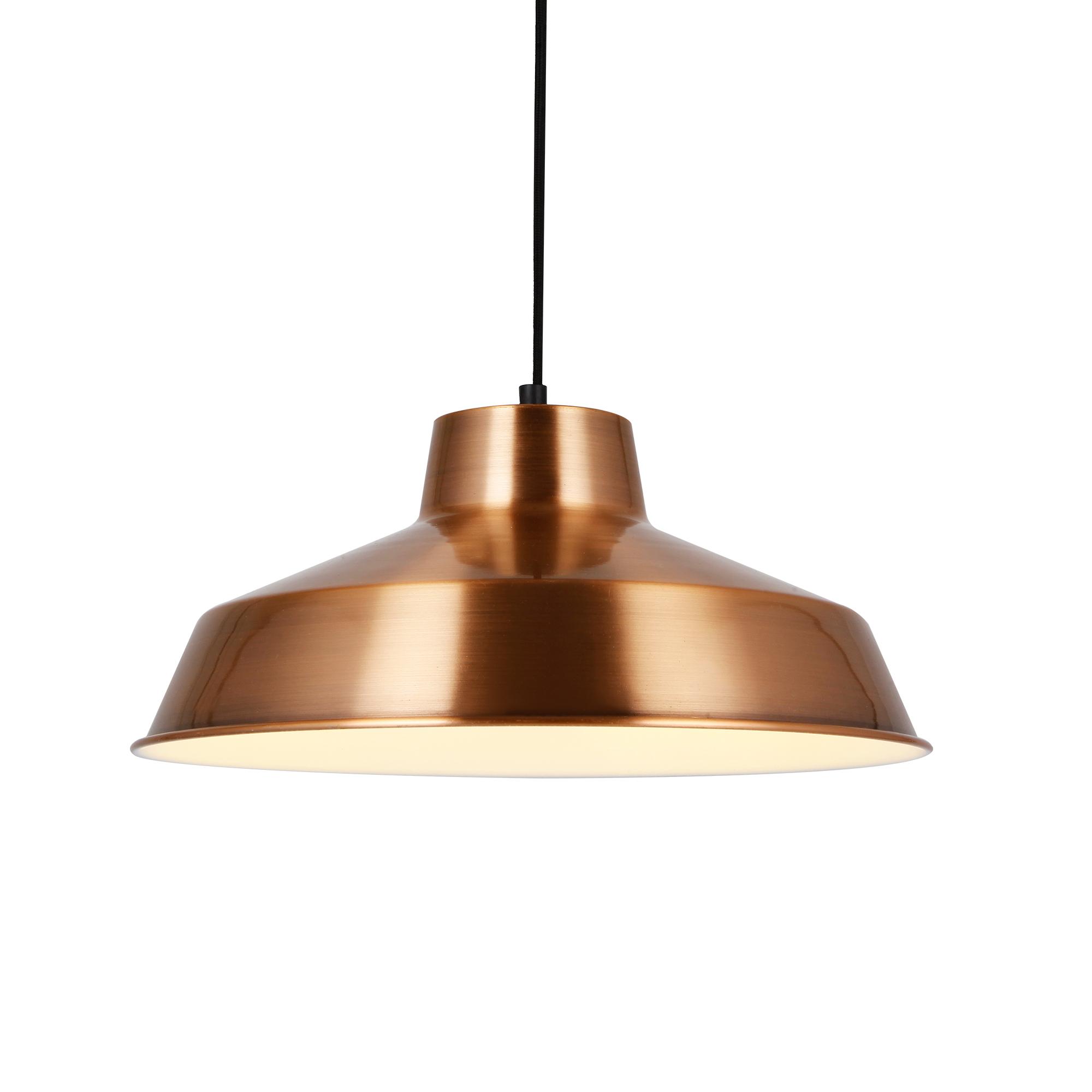 Hängeleuchte Design Decken-Lampe Kupfer Metall [Ø35cm] Pendelleuchte ...