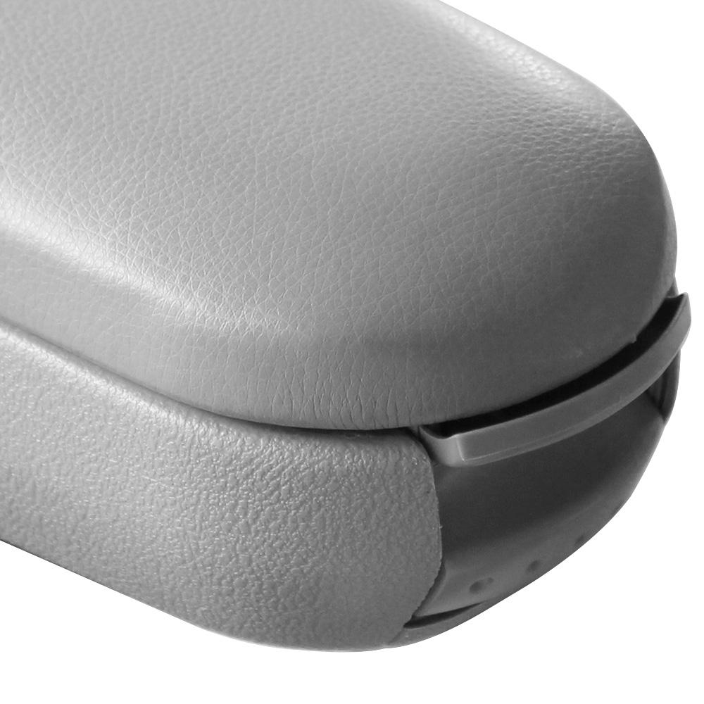 mod le pour vw golf 4 iv bora beetle accoudoir central cuir gris accoudoir auto ebay. Black Bedroom Furniture Sets. Home Design Ideas