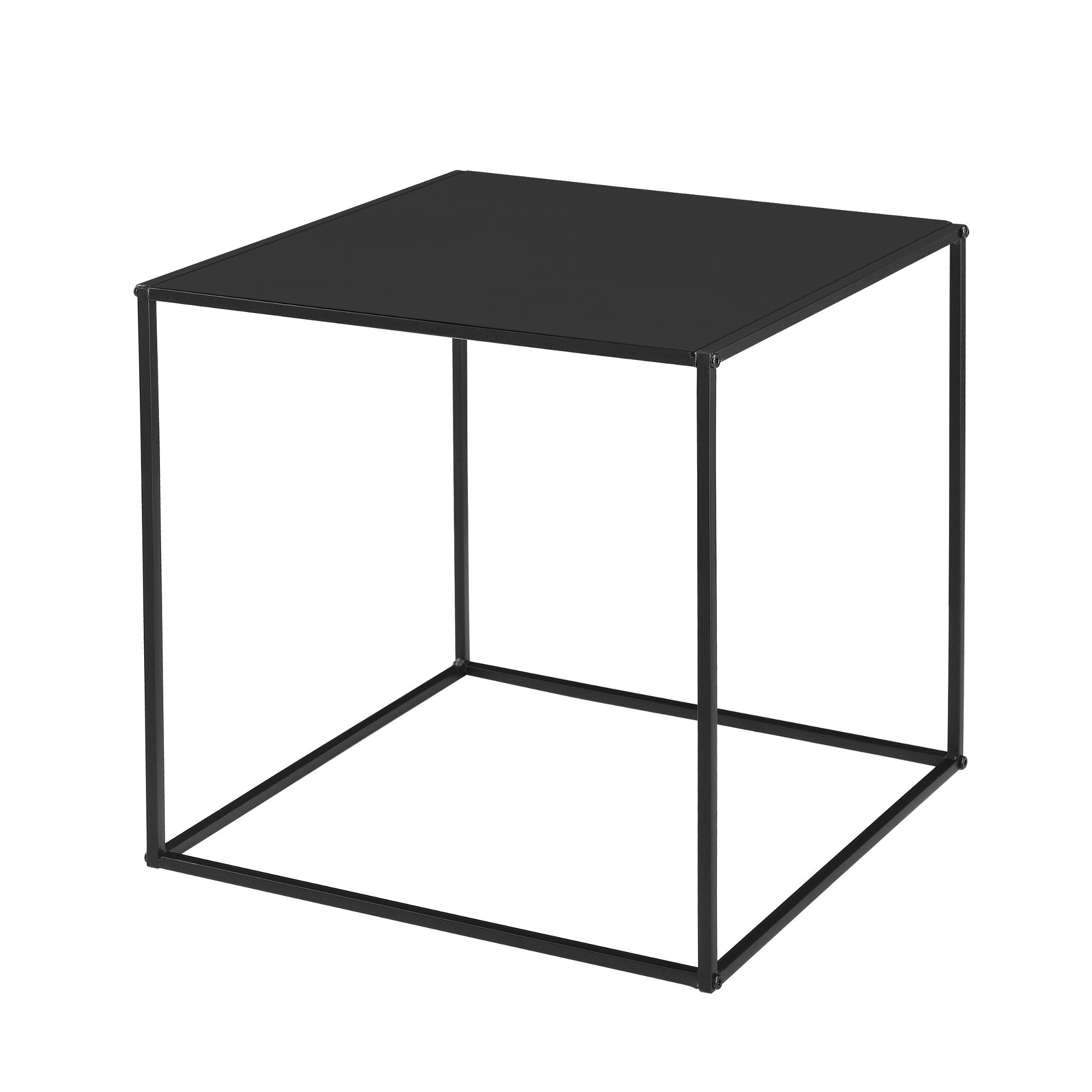 Encasa 2 X Tables Basses De Salon Table De Salon Noir Et Gris Ebay