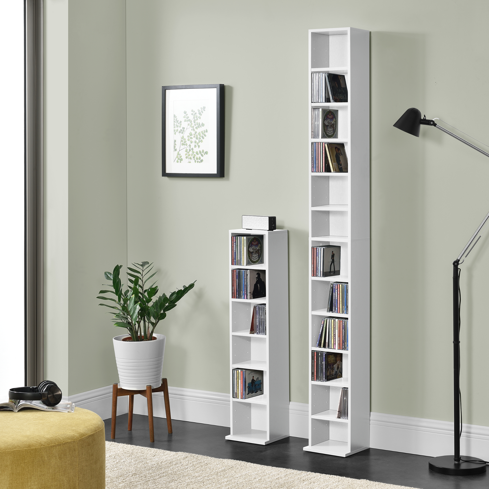 b cherregal cd regal standregal regal aufbewahrung 12. Black Bedroom Furniture Sets. Home Design Ideas