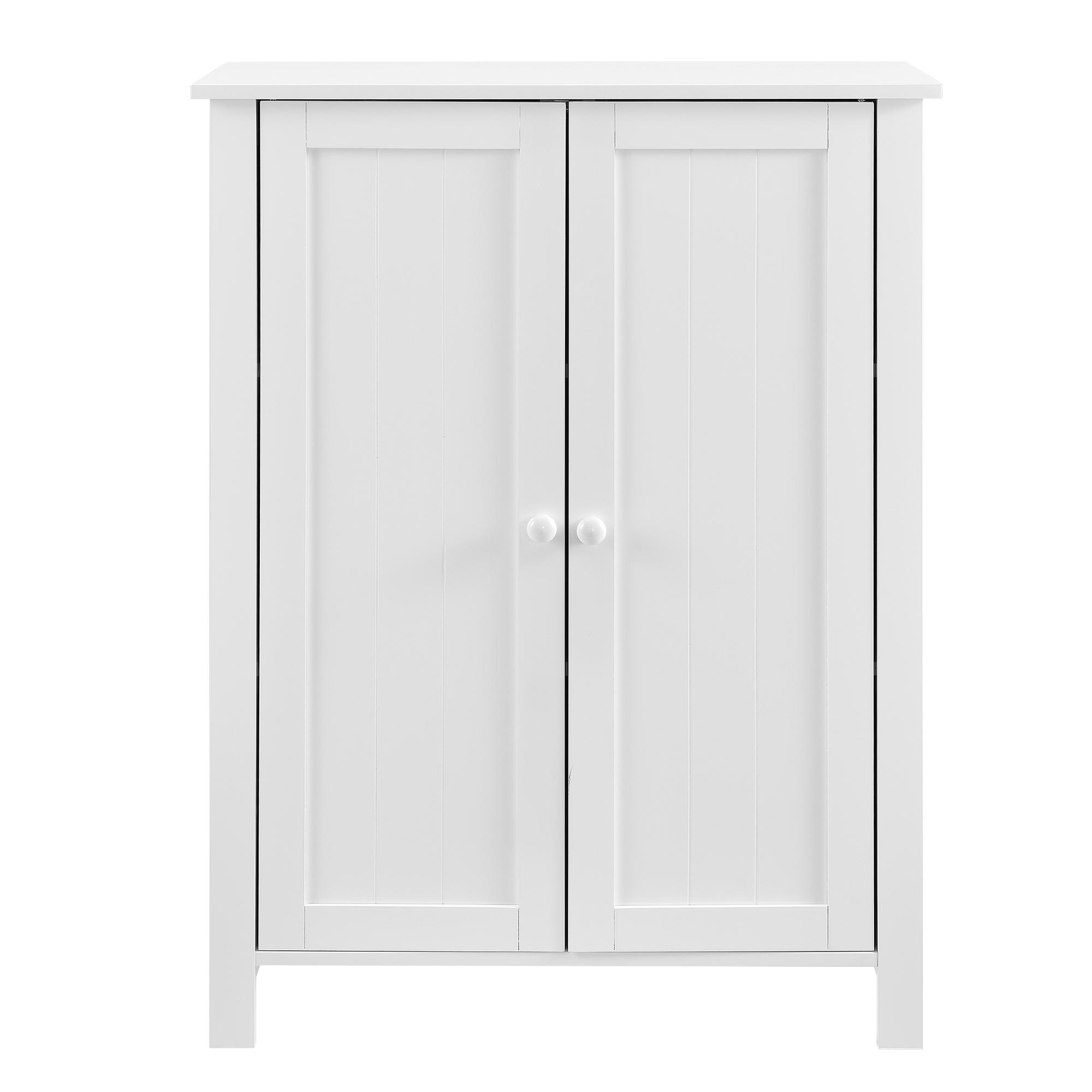 Armadio per bagno con 2 porte e 3 mensole 80x60x30cm bianco ebay - Porte per bagno ...