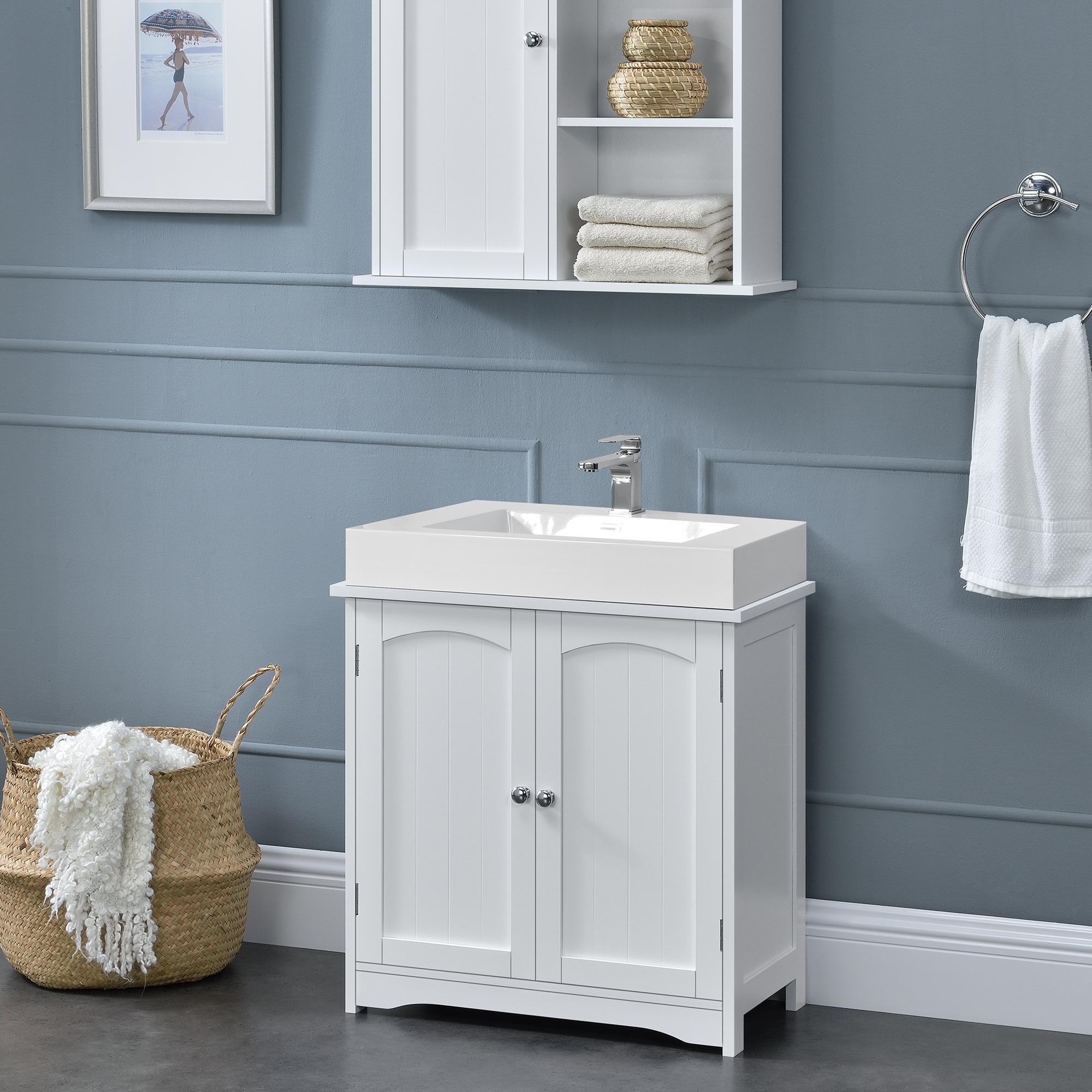 Armadio da bagno per lavabo 60x60x30cm armadio for Armadio da bagno